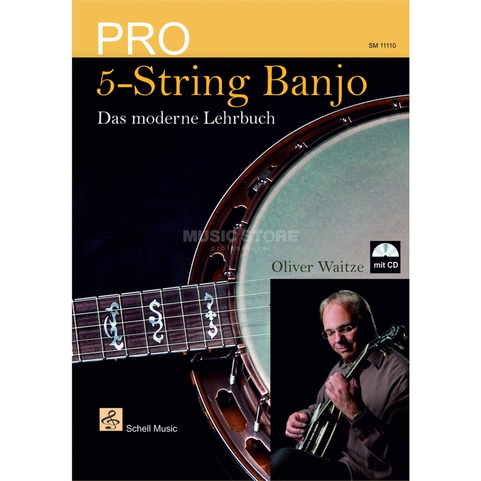 Schell Music Pro 5-String Banjo - Das moderne Lehrbuch Product Image