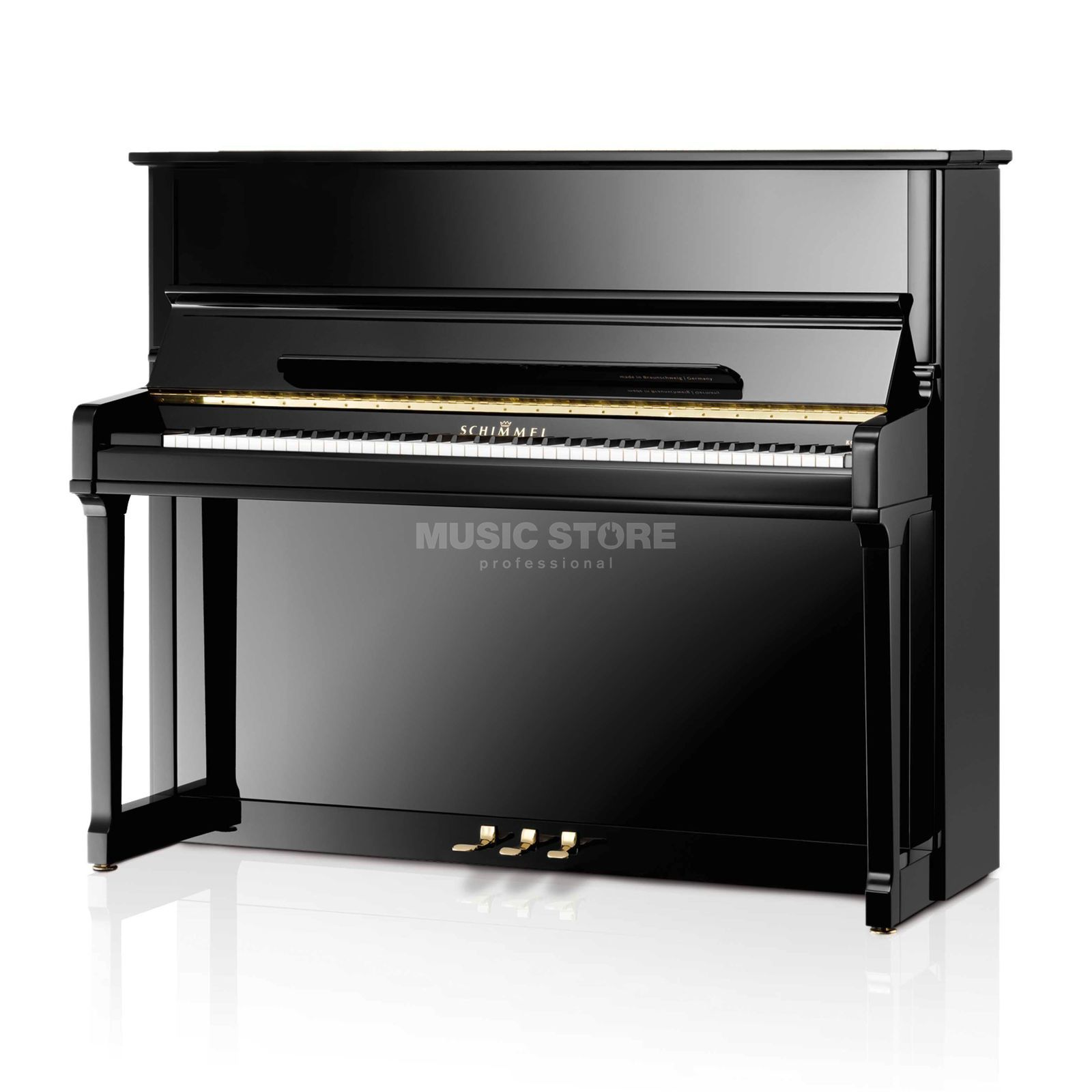 Schimmel 125 Piano DN Diamant Noblesse seat not  removable Produktbillede