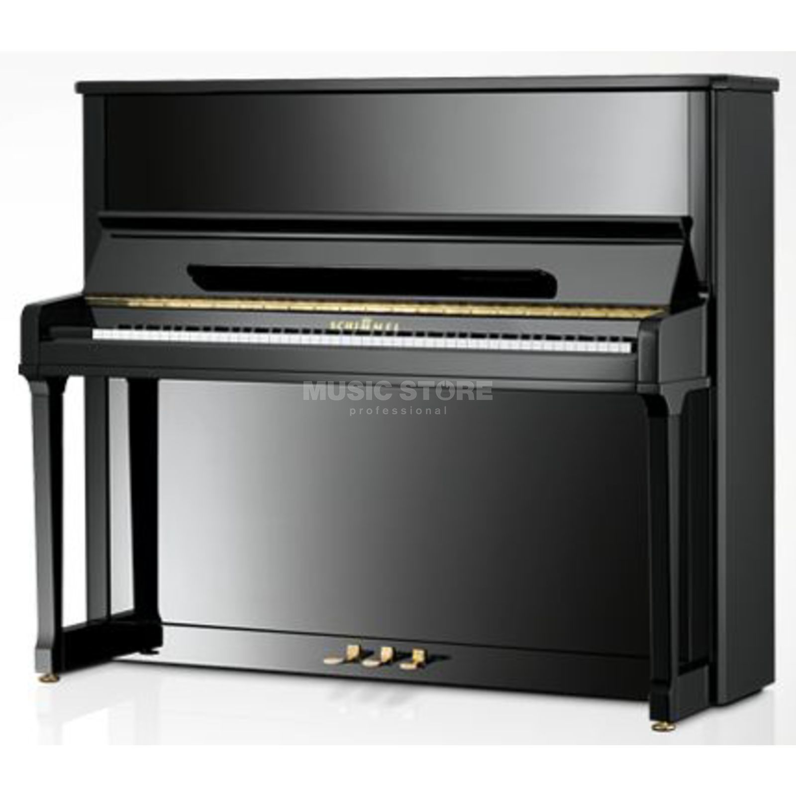 Schimmel 130 T-O Piano Black Polished/ Oval Produktbillede