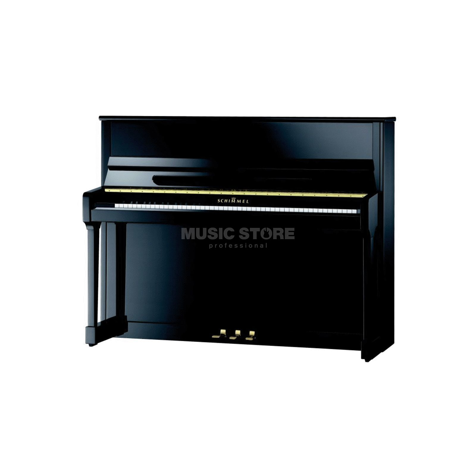 Schimmel C 116 Tradition Twin Tone Black polished, 116cm Produktbillede