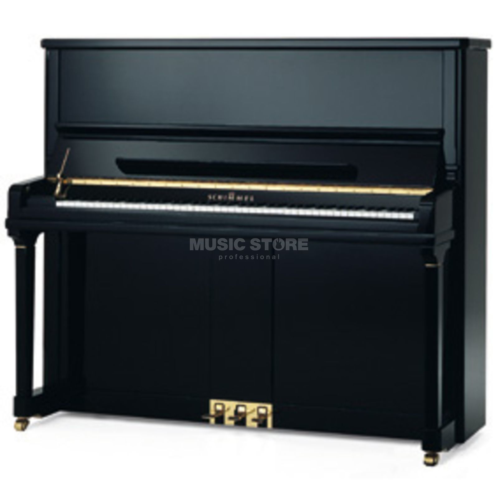 Schimmel K 132 Tradition Black polished Black polished Produktbillede