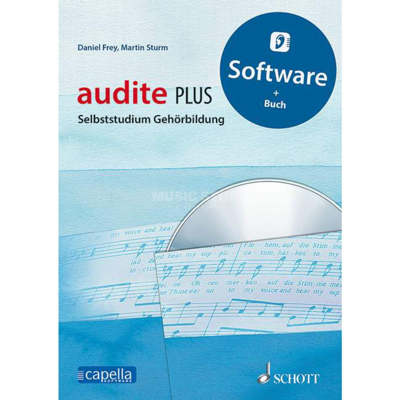 Schott Music audite PLUS Produktbillede