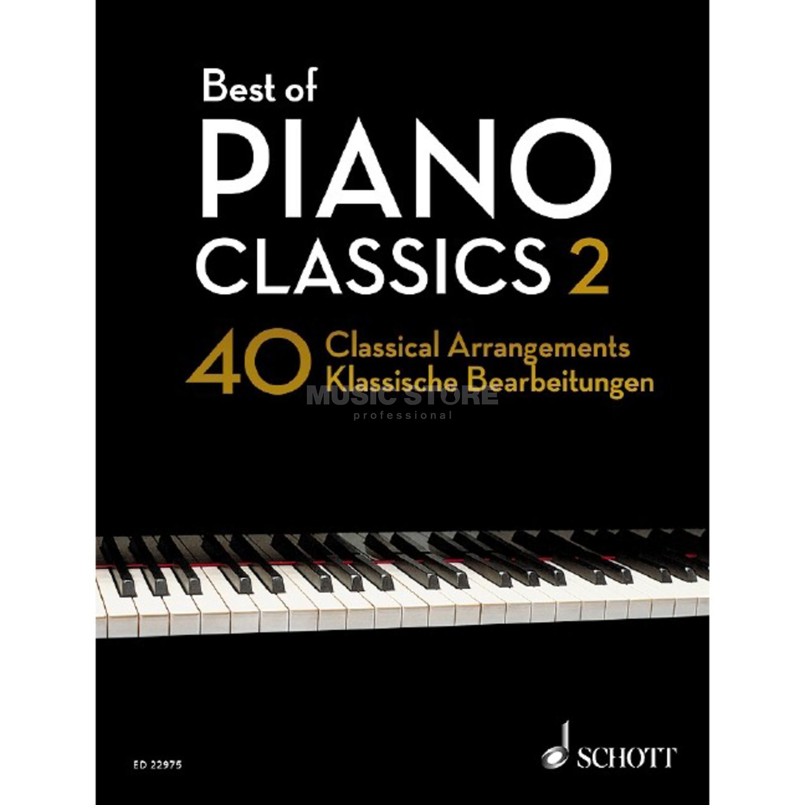 Schott Music Best of Piano Classics 2 Product Image