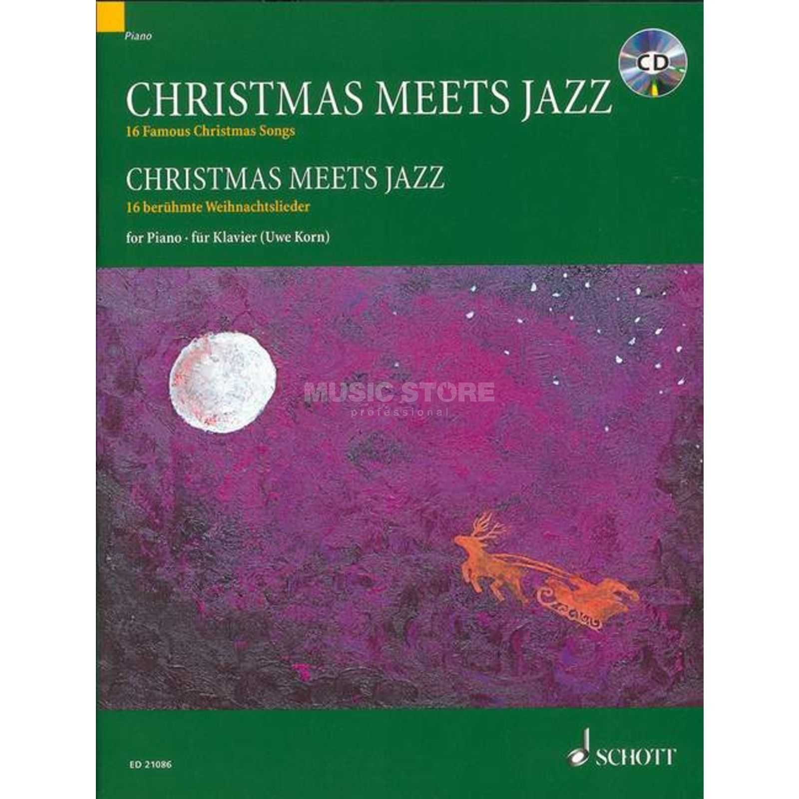 Schott Music Christmas meets Jazz Produktbild