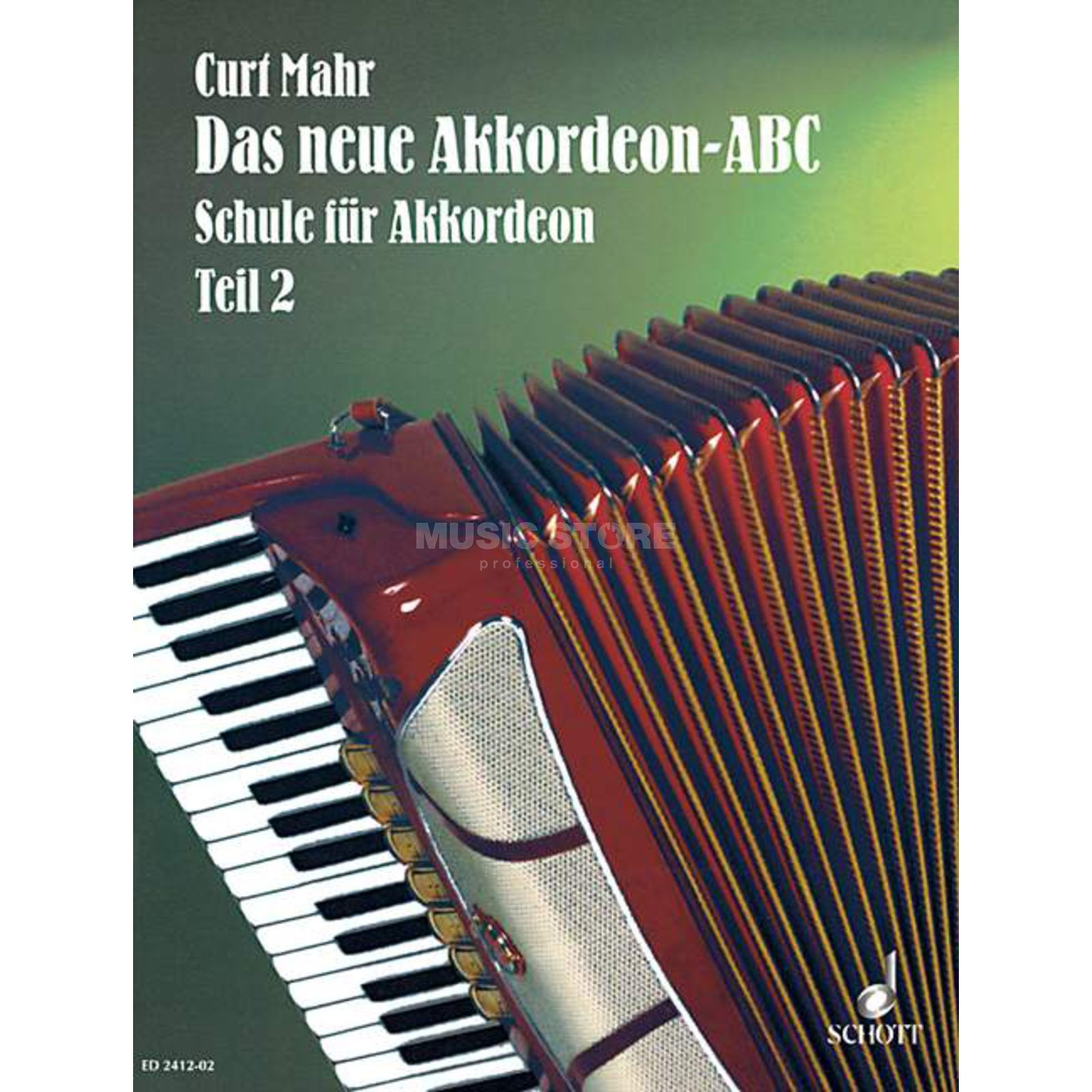 Schott Music Das neue Akkordeon-ABC, Band 2 Curt Mahr Product Image