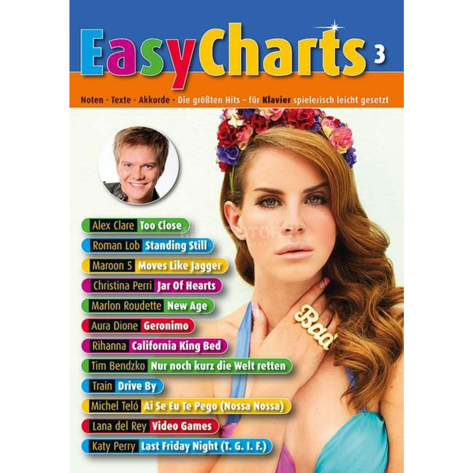 Schott Music Easy Charts 3 Product Image