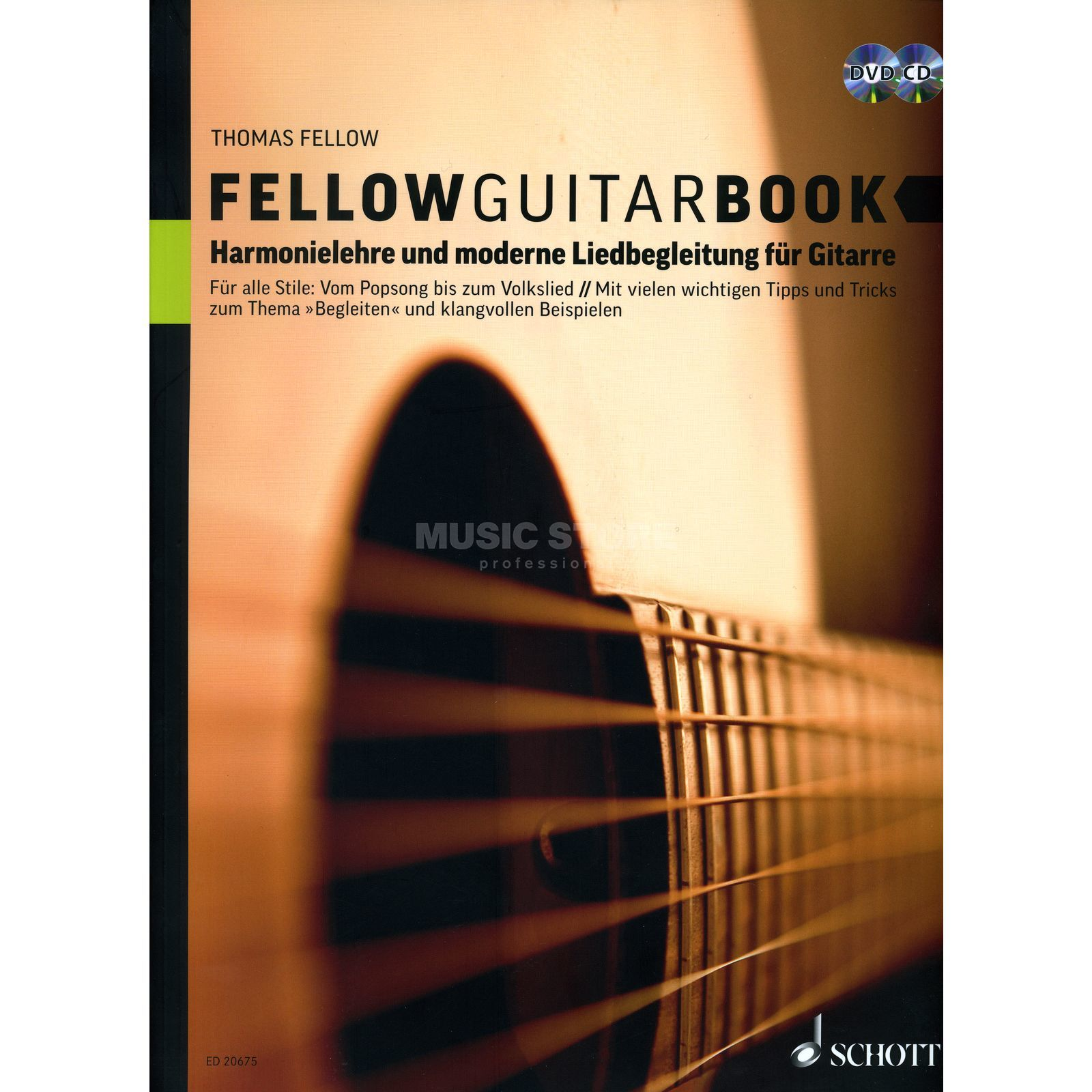 Schott Music Fellow Guitar Book Fellow, Buch, CD und DVD Produktbild