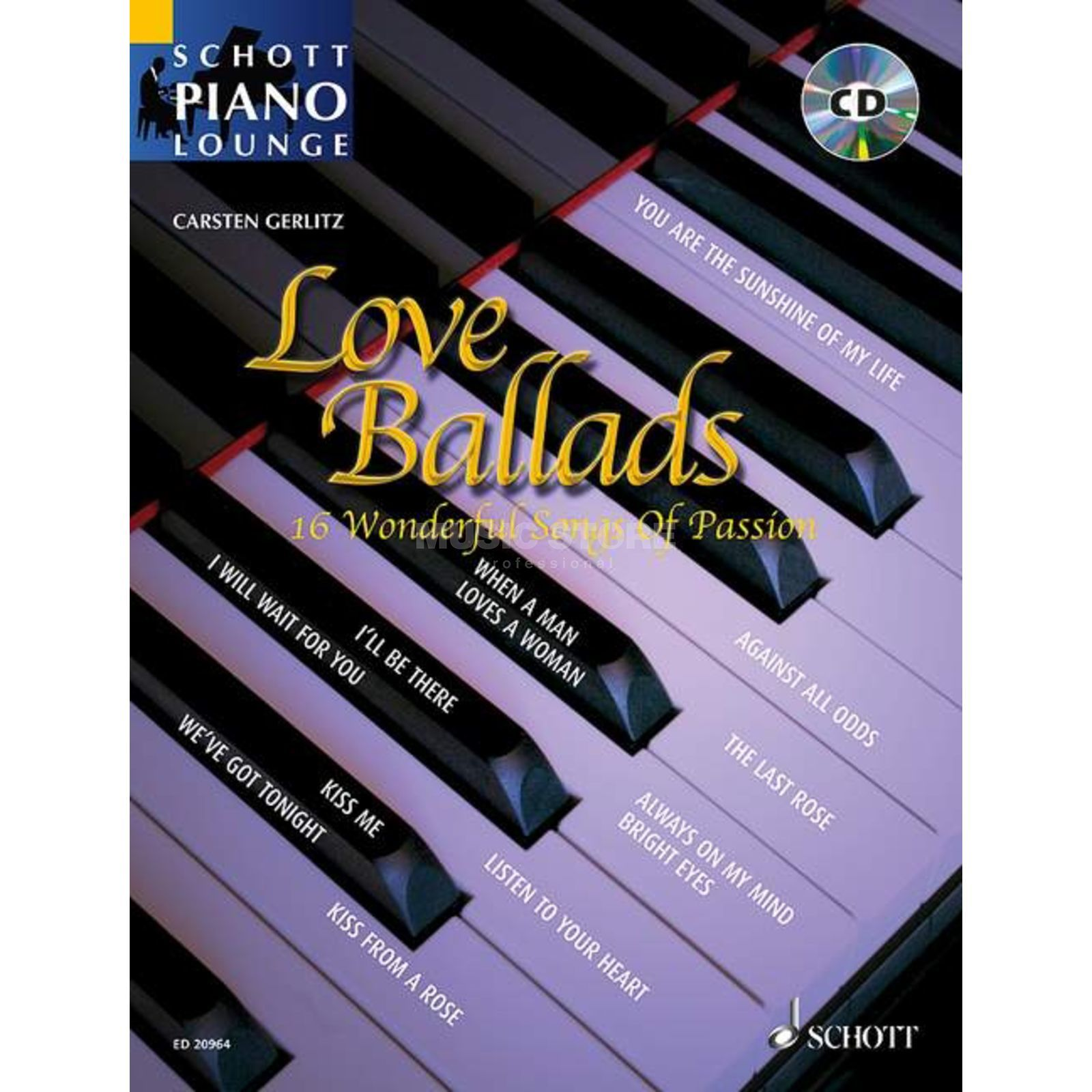 Schott Music Love Ballads Product Image