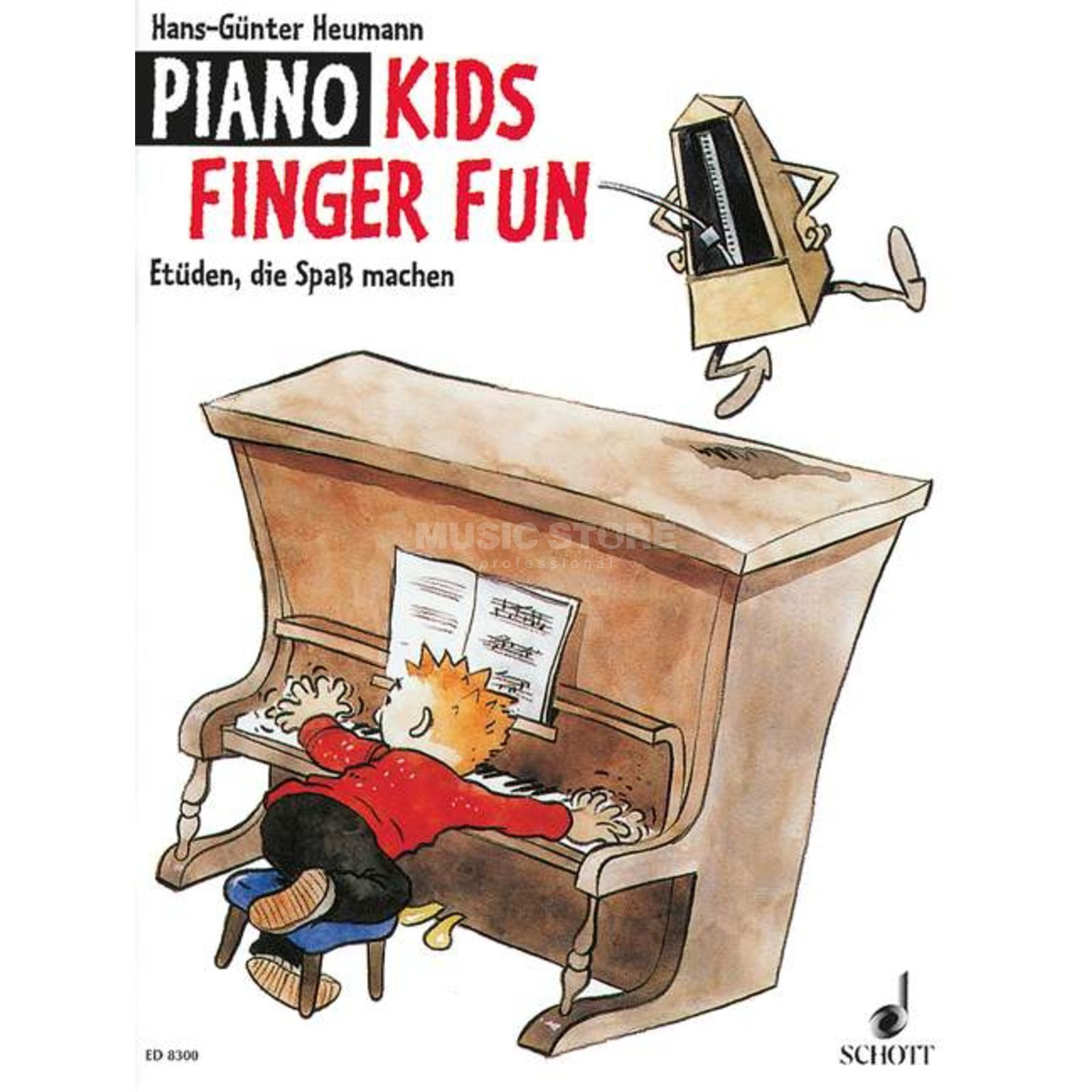 Schott Music Piano Kids Finger Fun Hans-Günter Heumann, Buch Produktbild