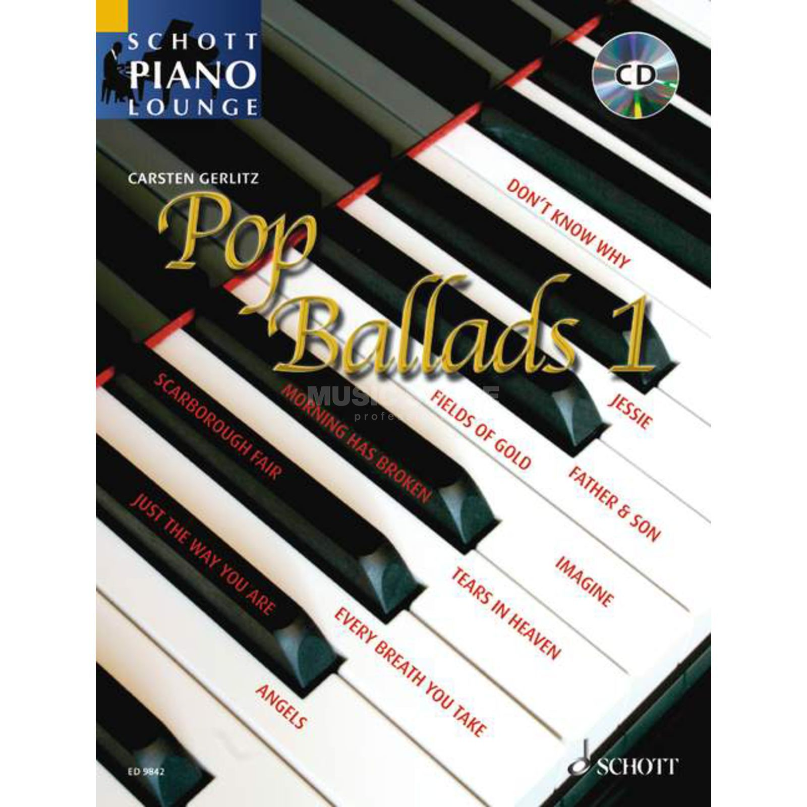 Schott Music Pop Ballads - Band 1 Produktbillede