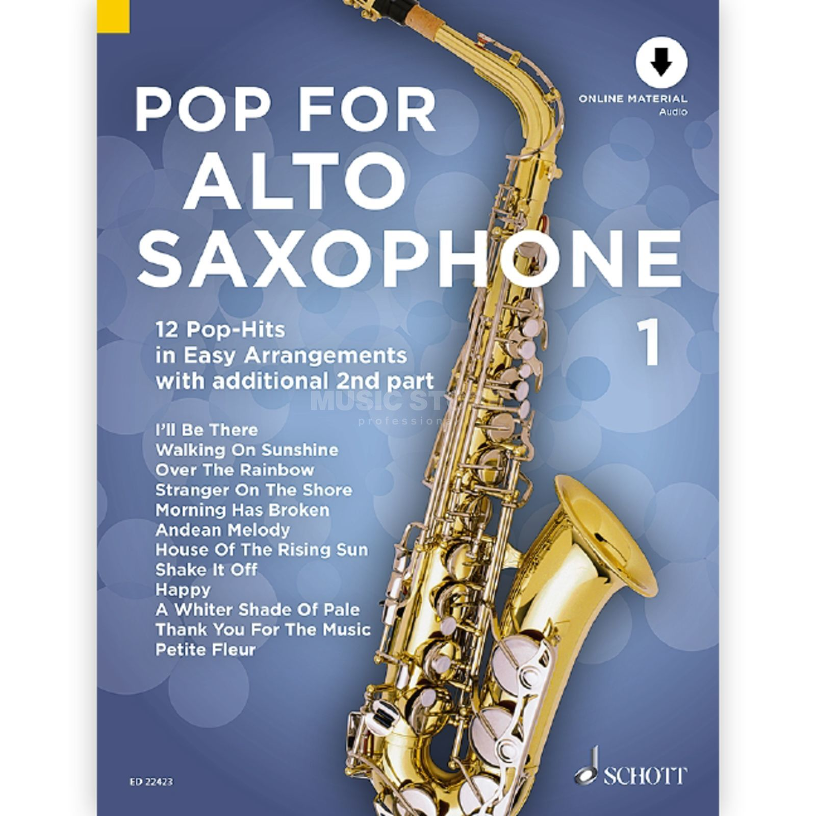 Schott Music Pop For Alto Saxophone 1 Product Image