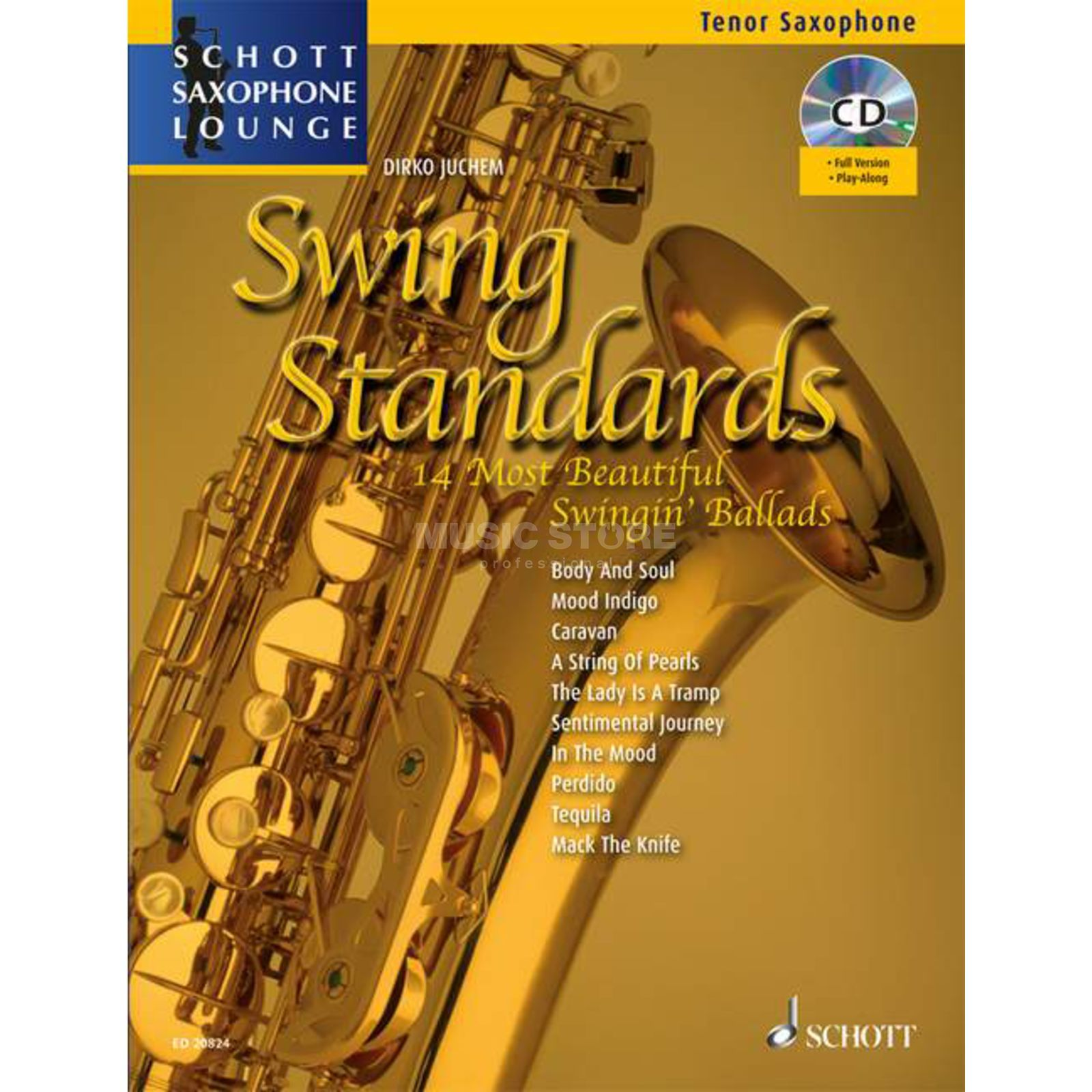 Schott Music Swing Standards - Tenor-Sax Juchem, Buch/CD Product Image