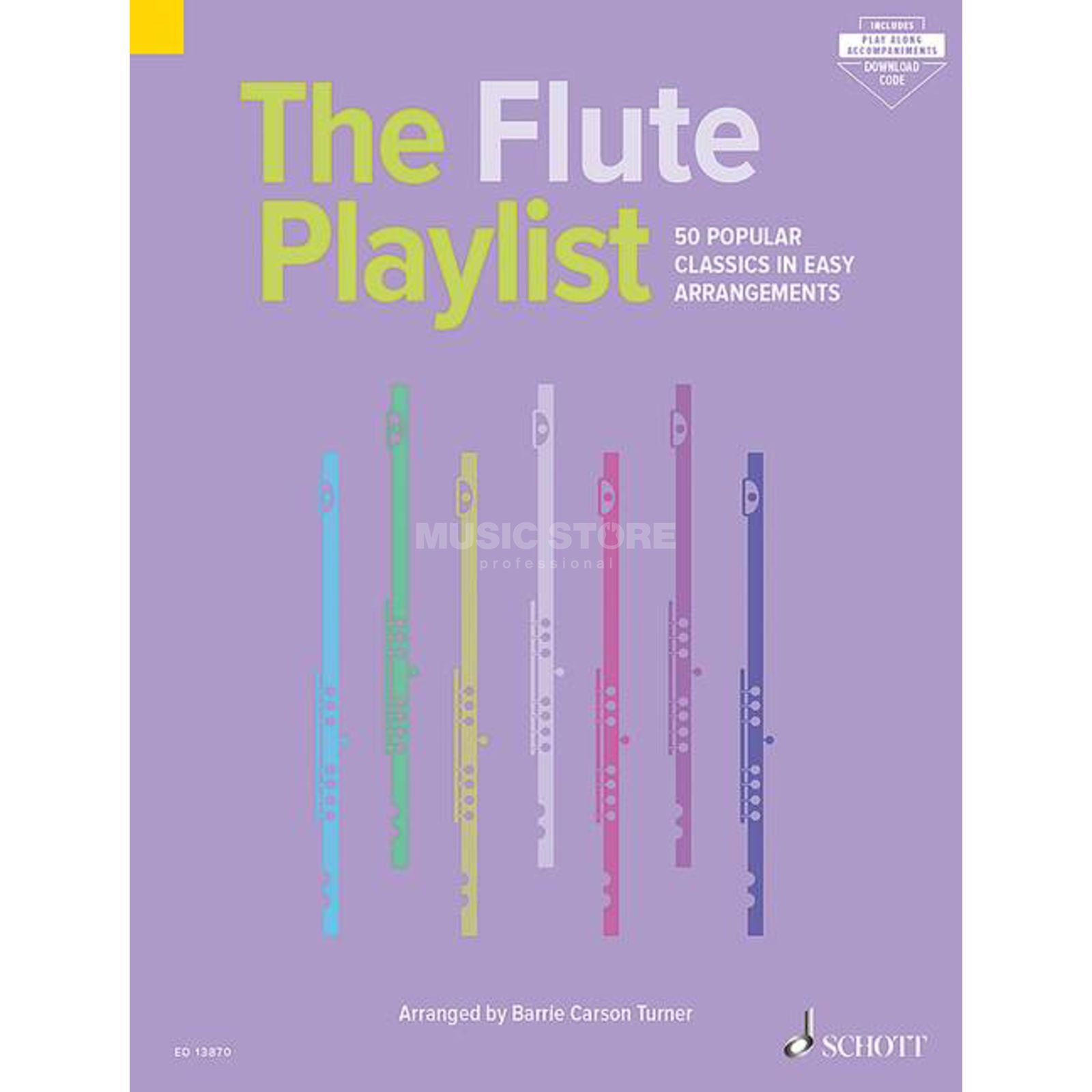 Schott Music The Flute Playlist Produktbild