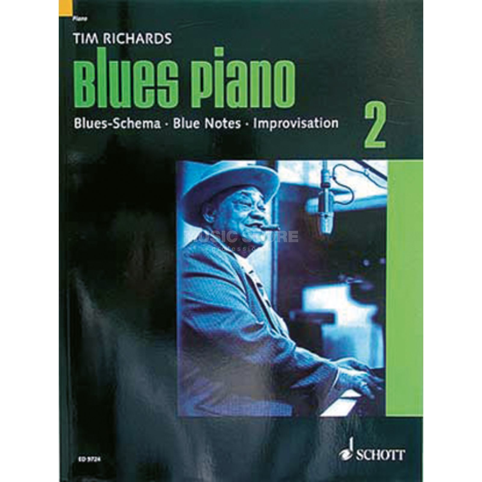 Schott-Verlag Blues Piano Band 2 Tim Richards Produktbild