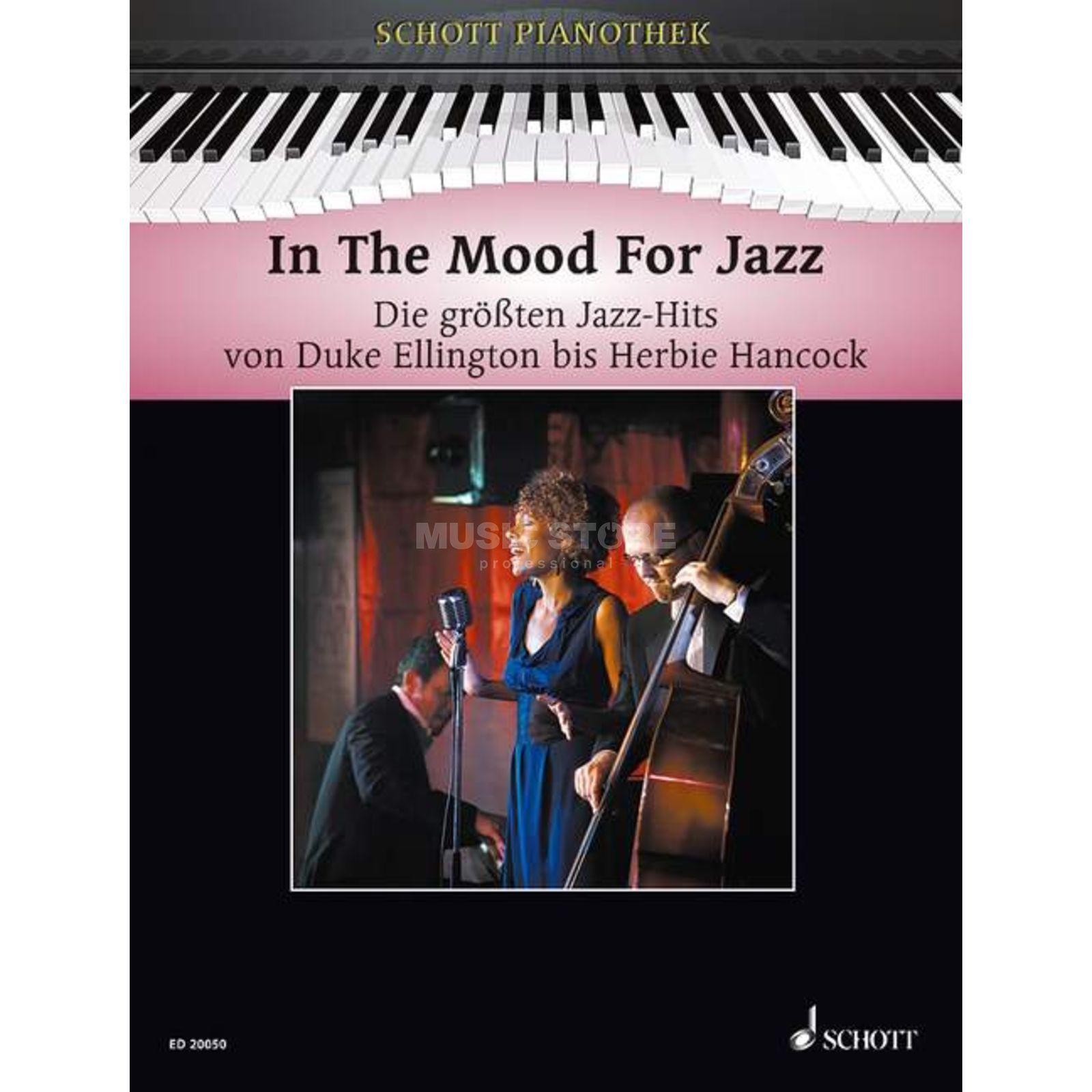Schott-Verlag In The Mood For Jazz Heumann, Pianothek Produktbild