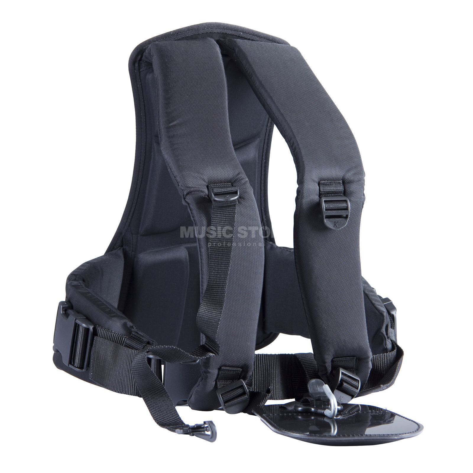 Schwarz Tuba Carrying Strap with Back Predector Produktbillede