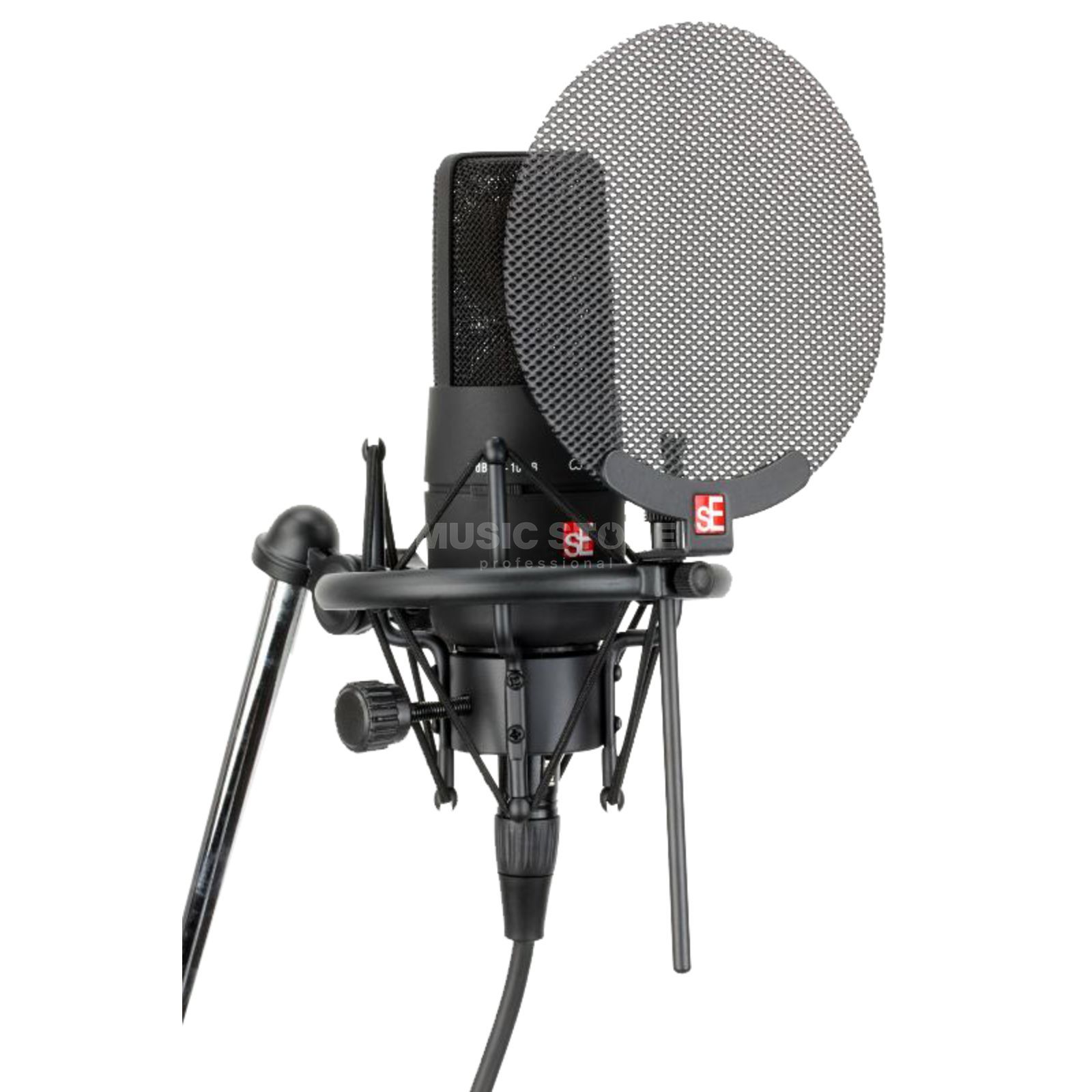 SE electronics X1 Vocal Pack incl. Popshield Cable & Shockmount Produktbillede