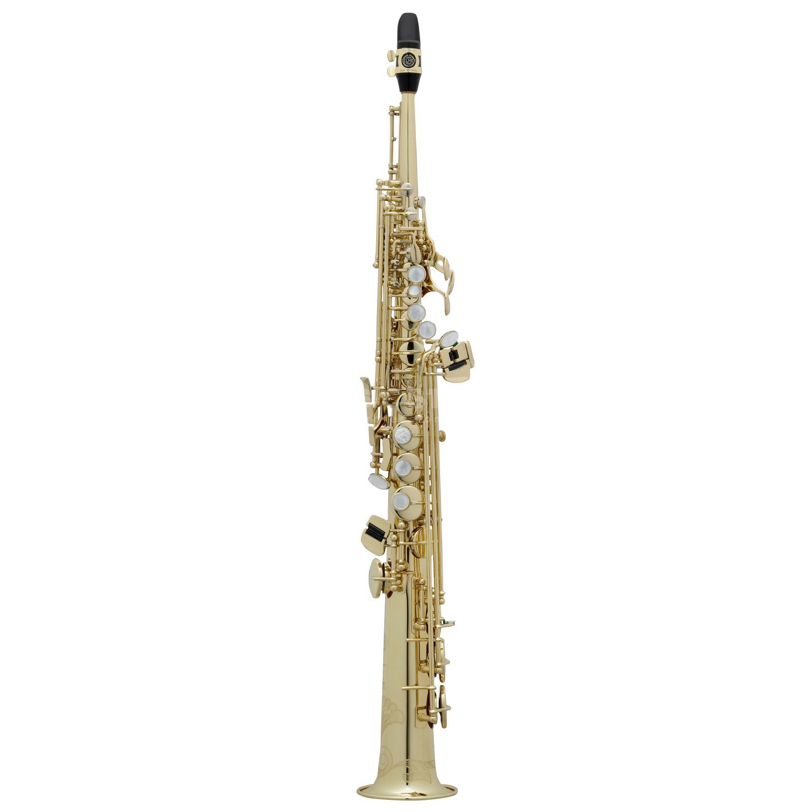 Selmer SE-S2L Bb-Soprano Saxophone S 80 II, Gold Lacquer Produktbillede