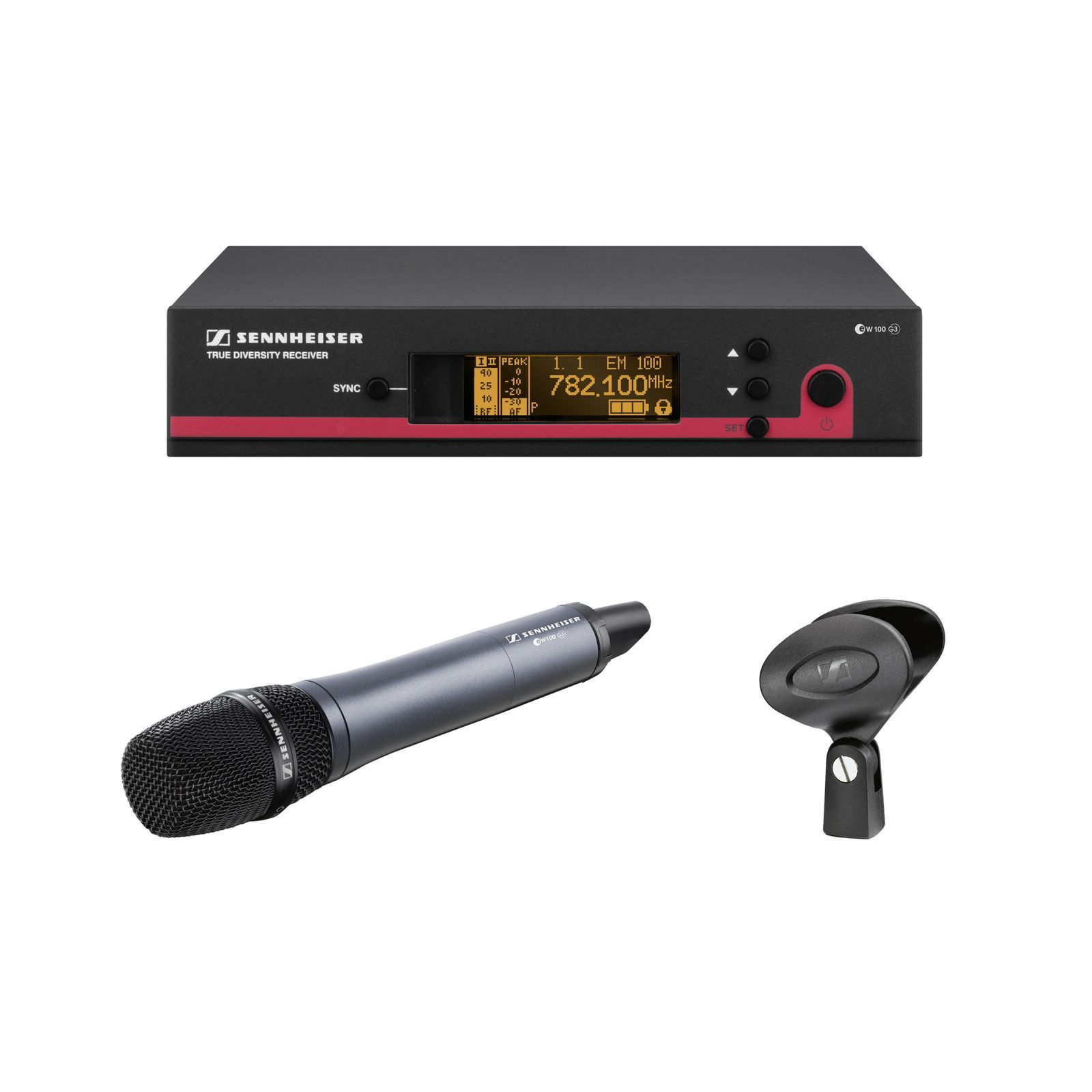 Sennheiser ew 145-GB G3 Vocal Set / 606 - 638 MHz Produktbild