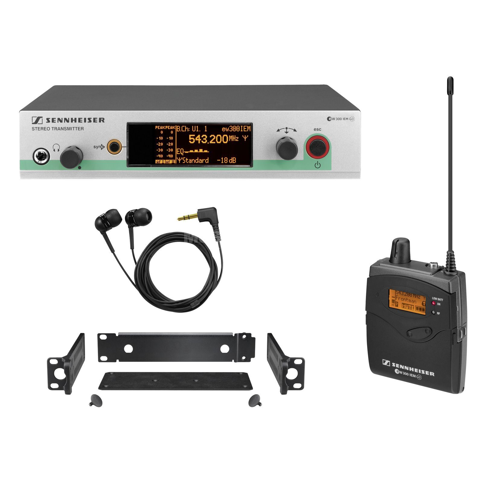 Sennheiser ew 300 IEM-C G3, 734-776 MHz Wireless Monitor Set Produktbild