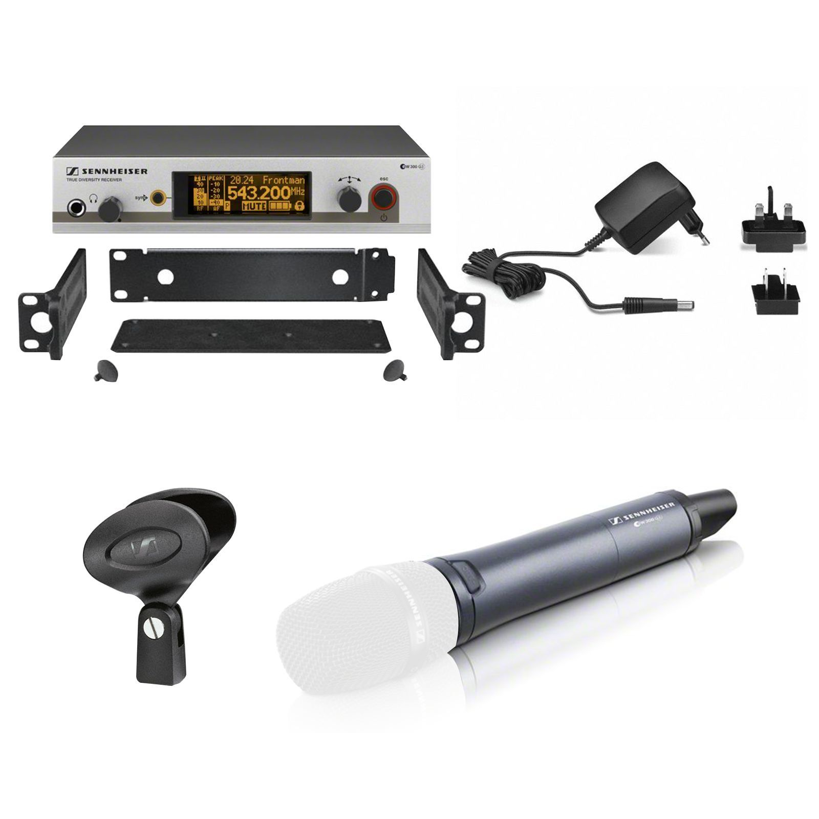 Sennheiser ew 300 Set SKM - B G3 B-Band without capsule Product Image