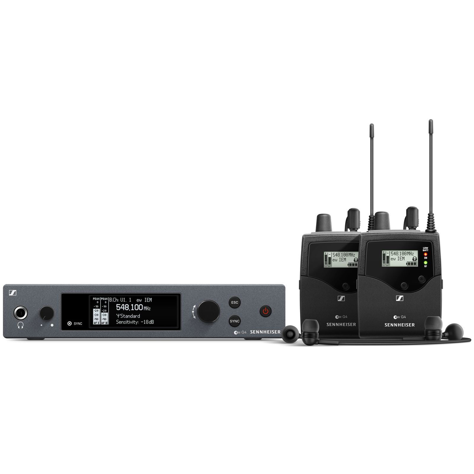 Sennheiser ew IEM G4-TWIN-A Wireless Monitor Twin Set Produktbild