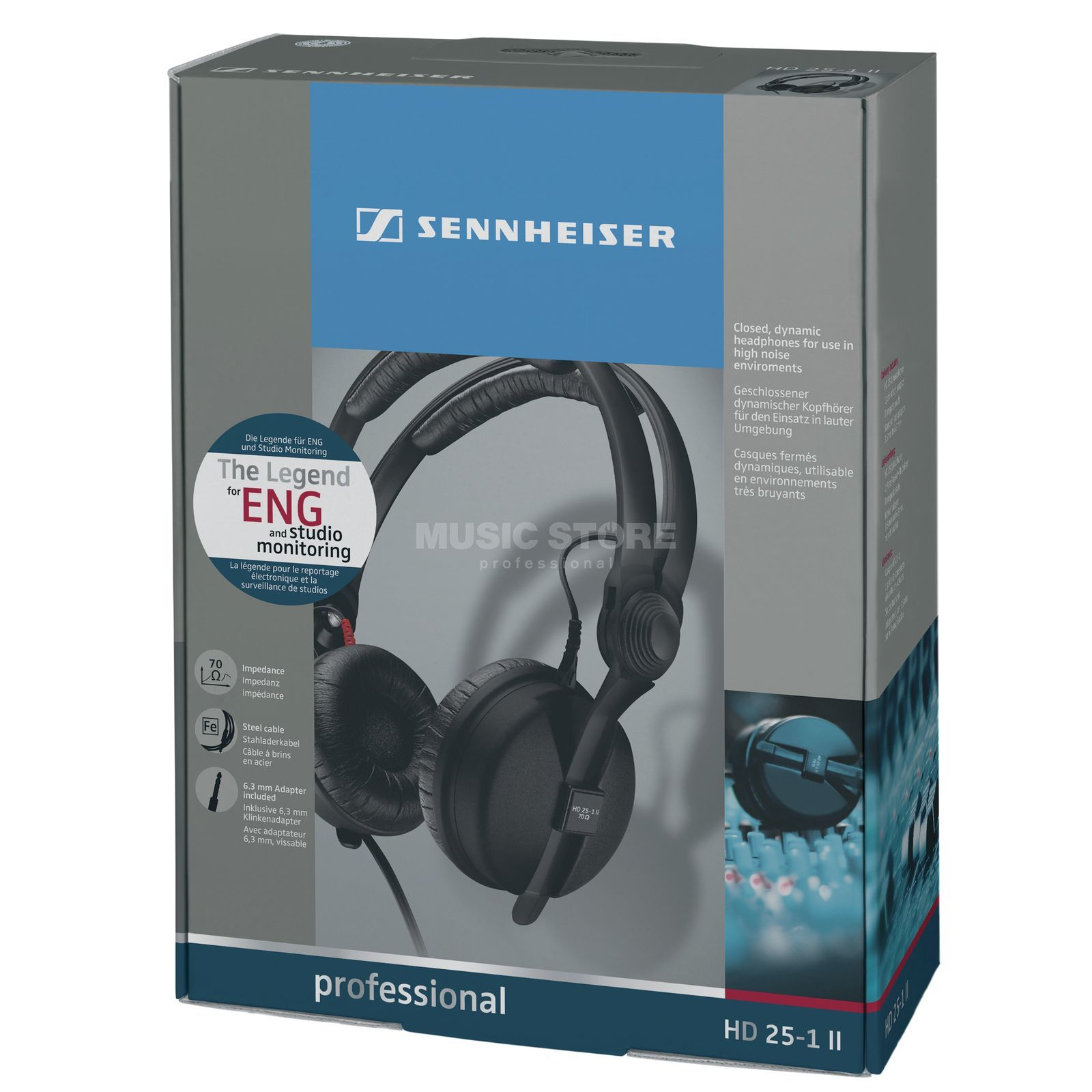 Sennheiser Hd 25 1 Ii Professional Headphones