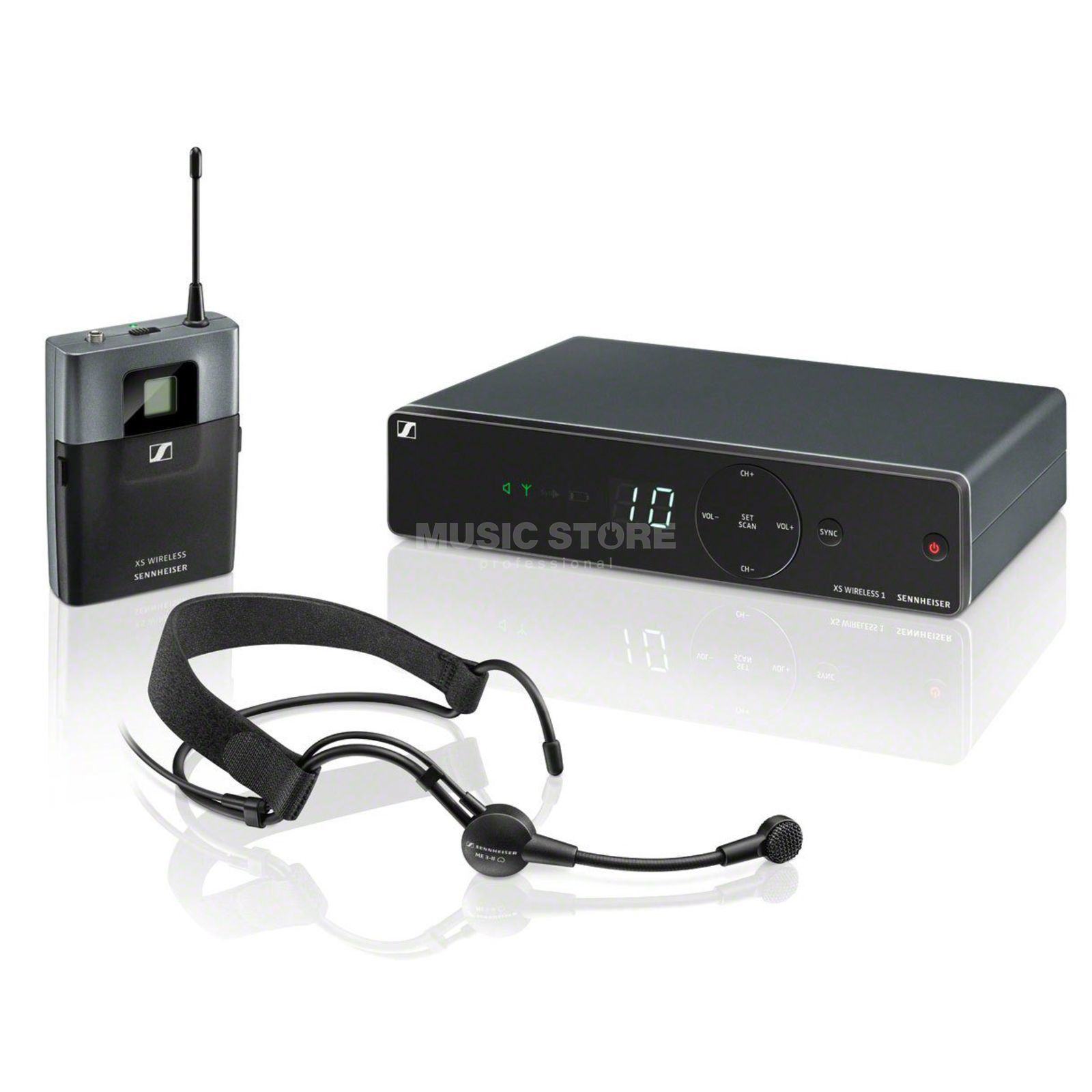 Sennheiser XSW 1-ME3-GB Headset Set Product Image