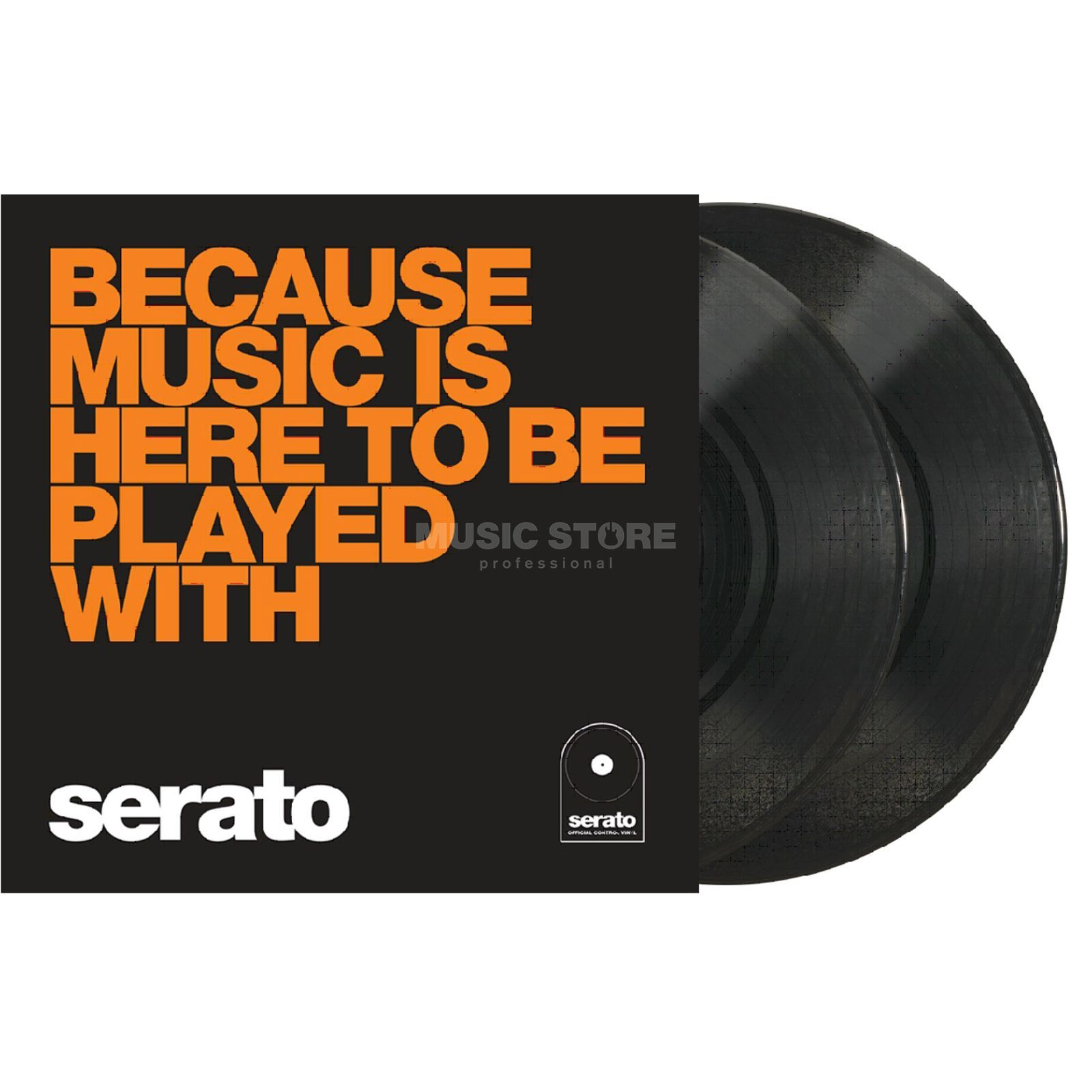 "Serato 10"" Manifesto Control Vinyl x2 (Orange Text) Изображение товара"
