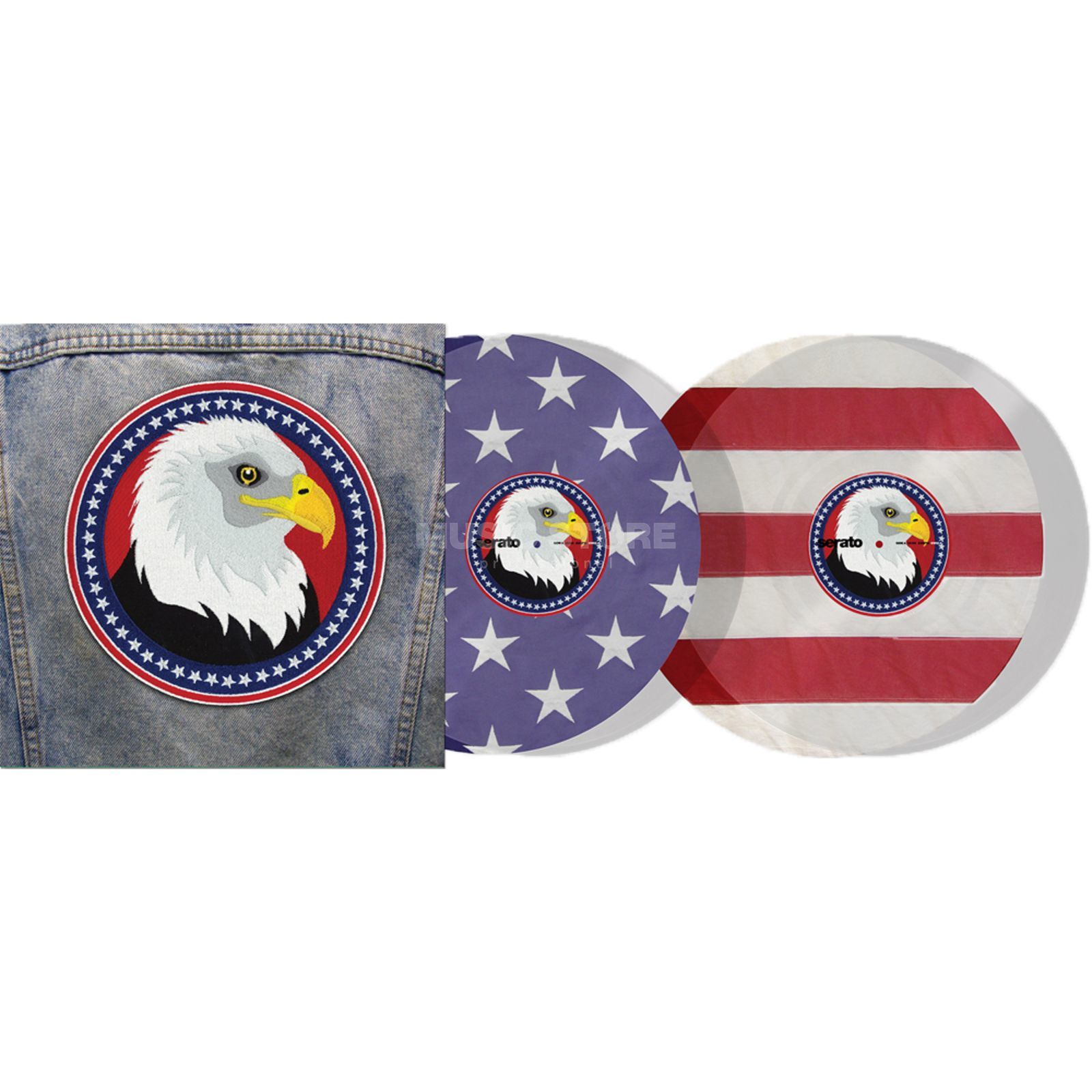 Serato Control Vinyl USA Country Limited Edition (paar) Produktbild