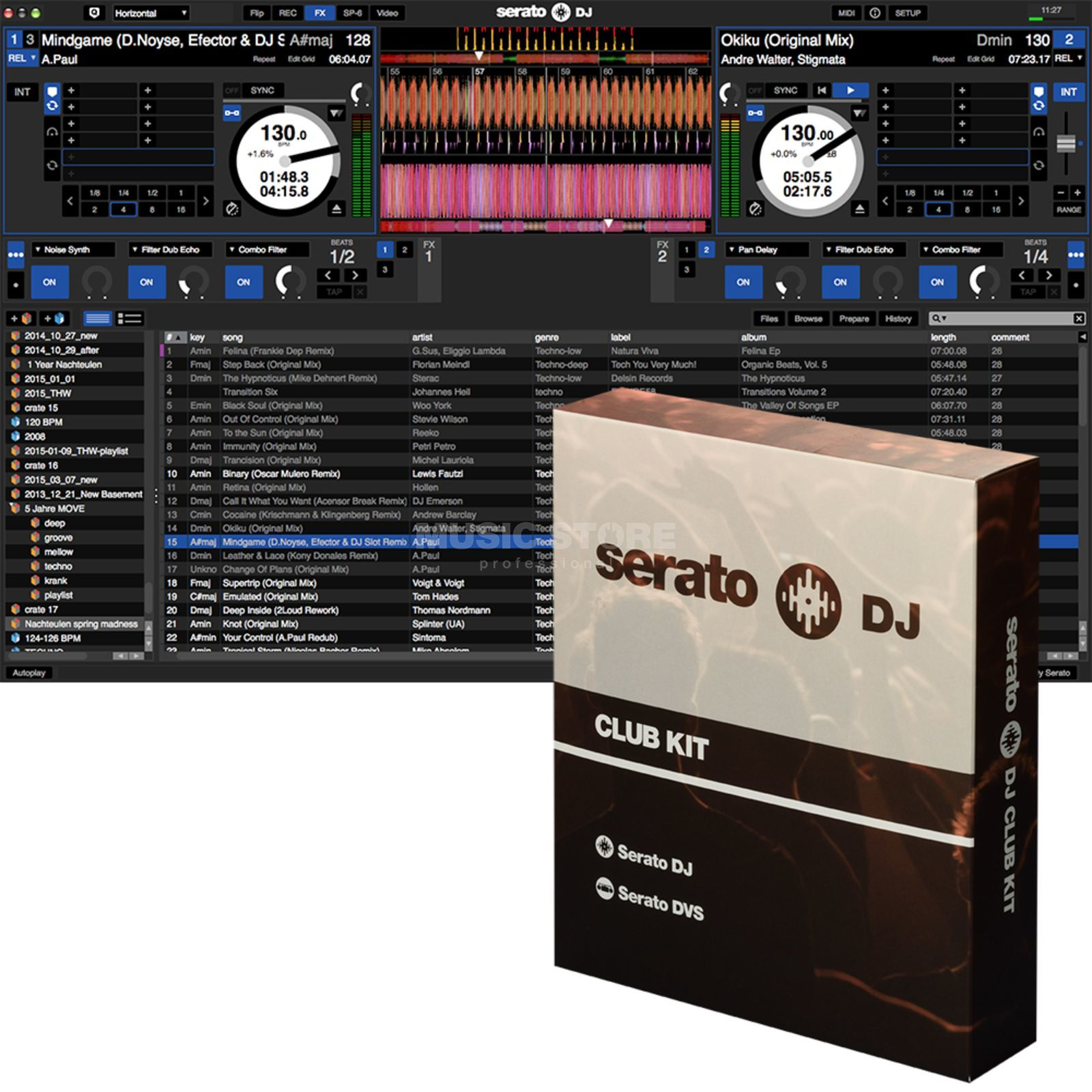 Serato DJ Club Kit Produktbillede