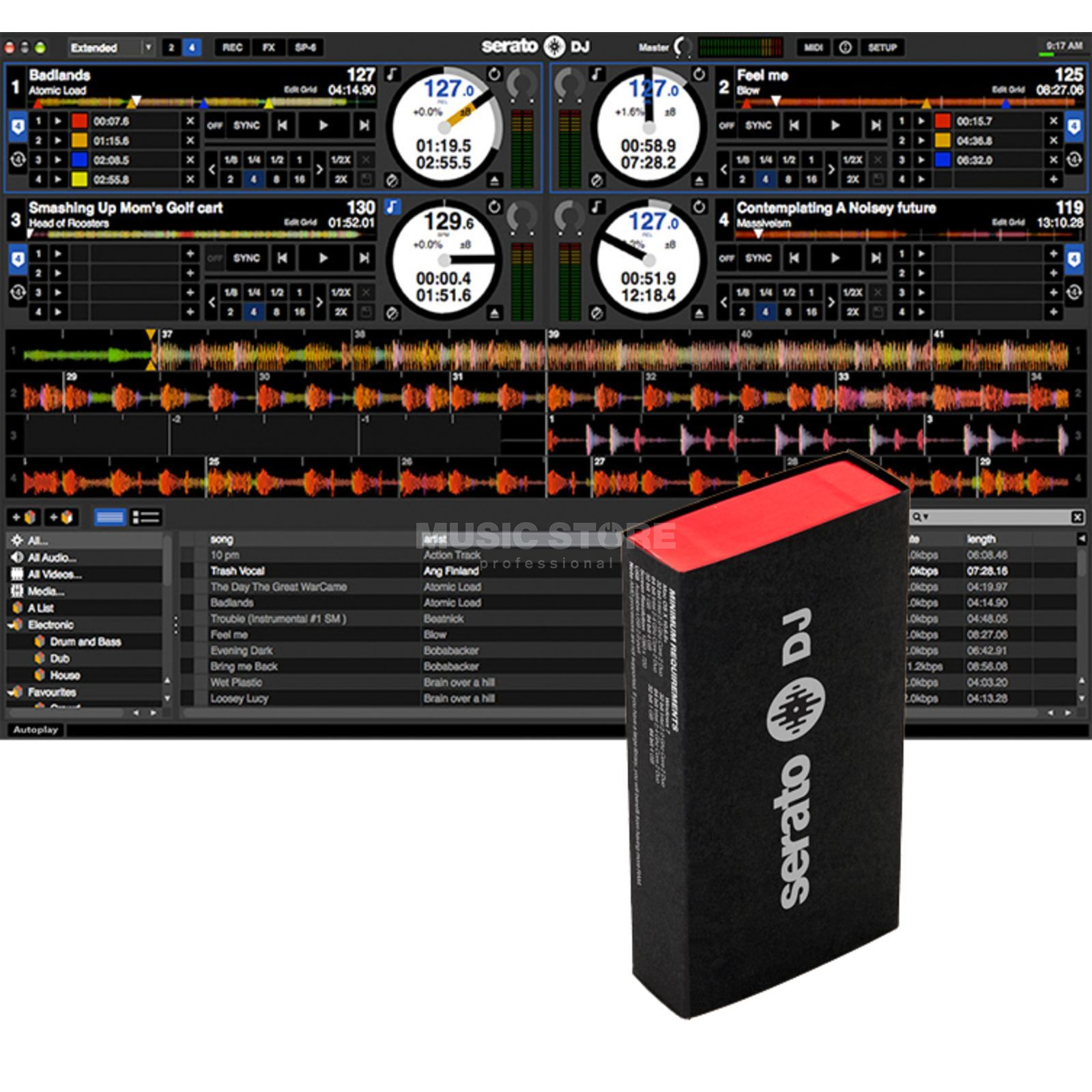 Serato DJ Software (Box) Upgrade für Serato Intro Produktbild