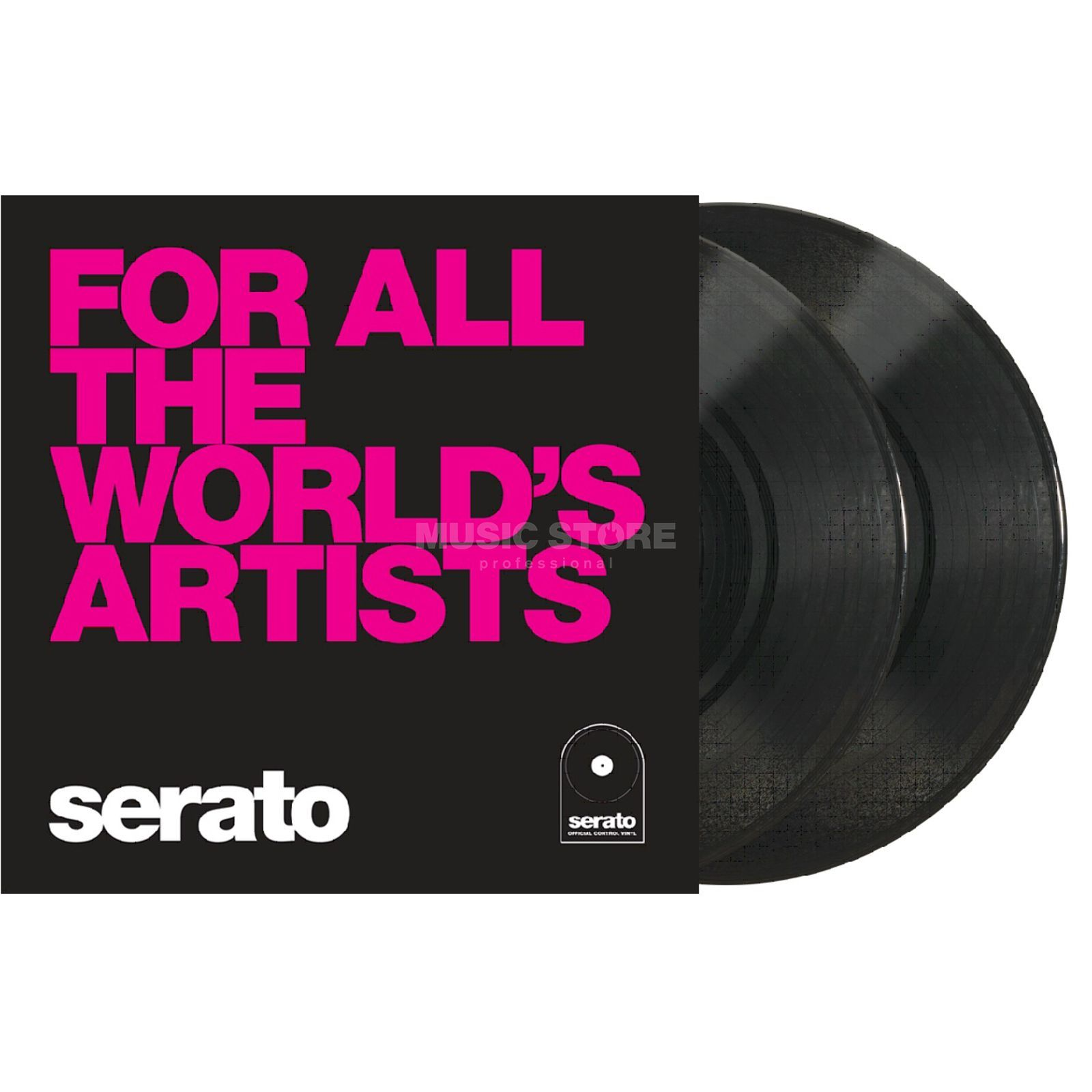 "Serato Manifesto 10"" Control Vinyls schwarz, For all the worlds Produktbild"