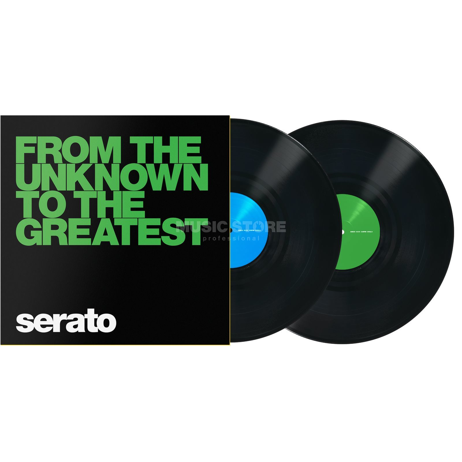 Serato Manifesto Control Vinyls noir, From the Unknown Image du produit