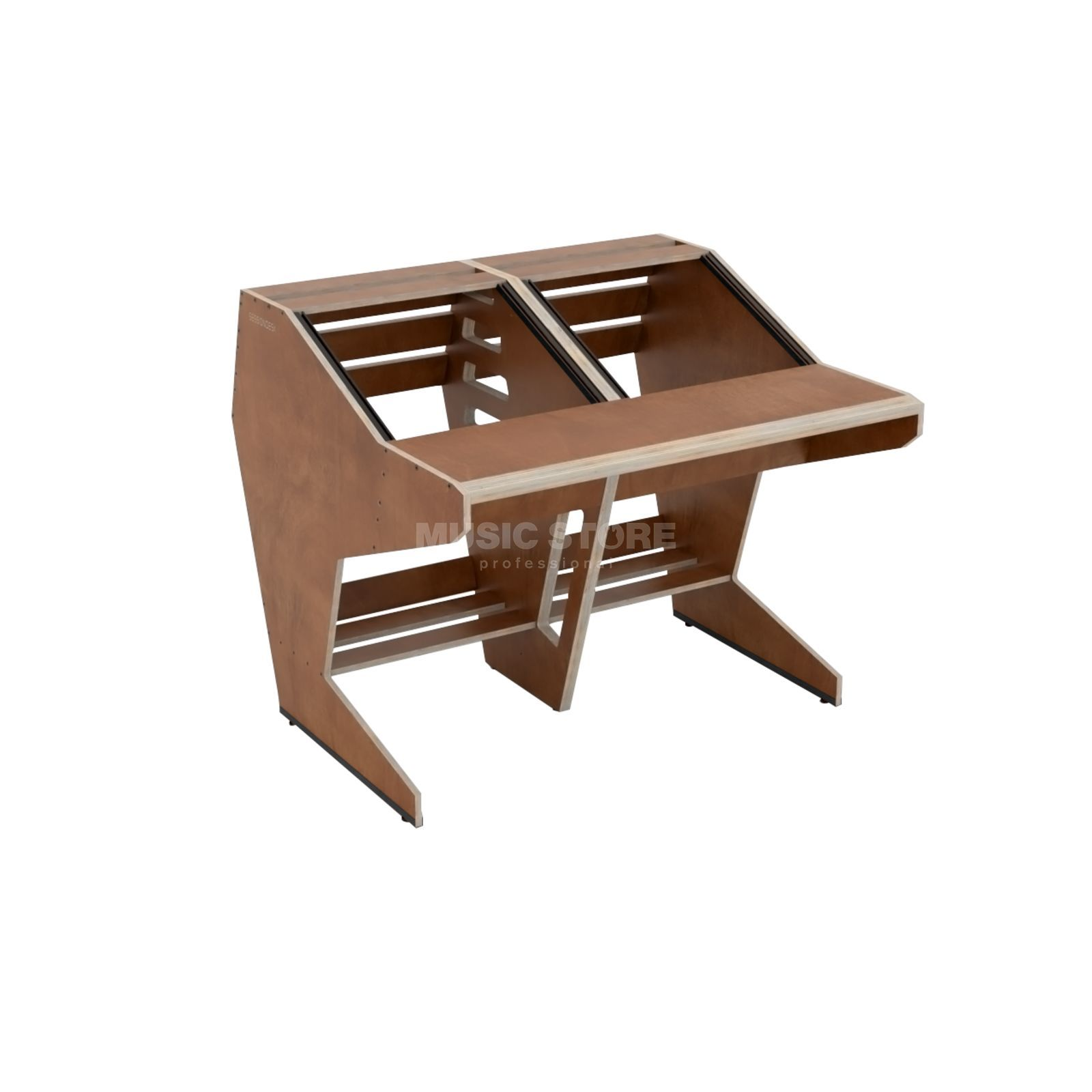 Sessiondesk Quintav Brown Product Image