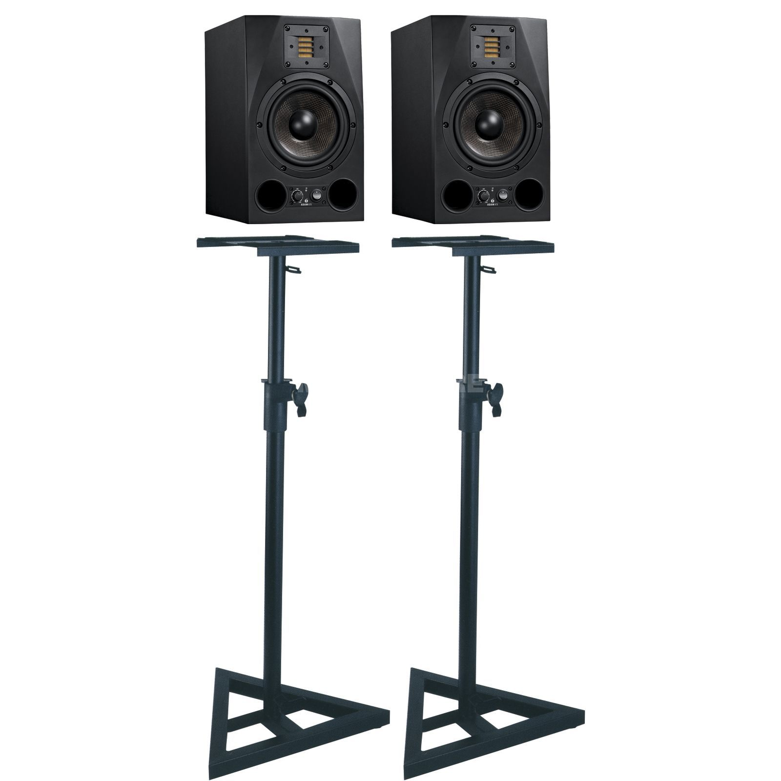 SET ADAM A7X + DB039 Monitor Stand SET Produktbild