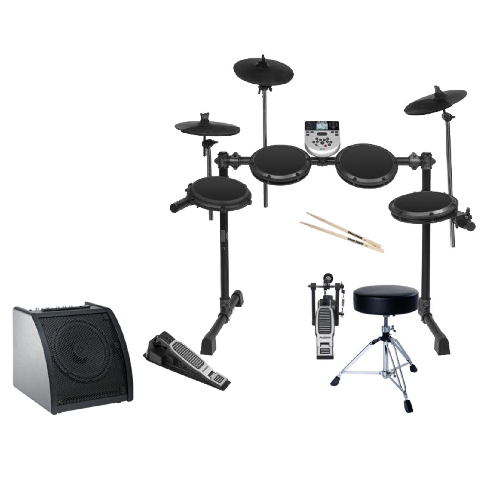 SET ALESISI DM 7X Session Set II, inkl. Monitor, Hocker & Stix Produktbillede