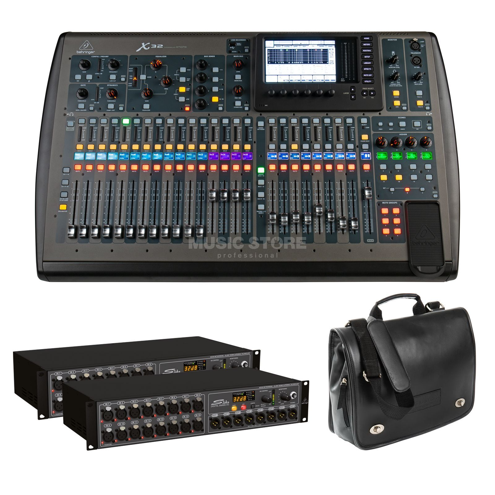 SET Behringer X32 / S16 / Case Bundle I Produktbild