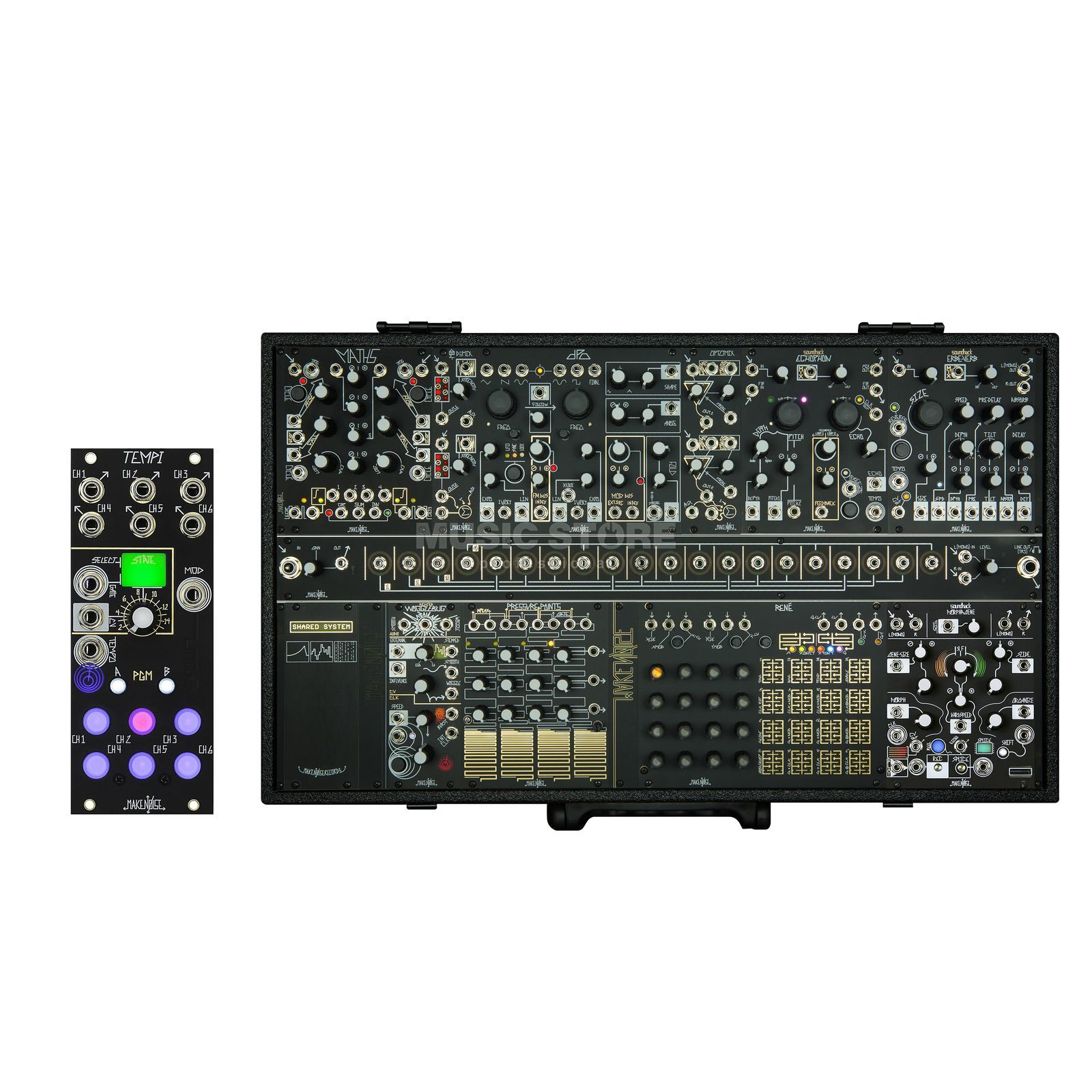 SET Black and Gold Shared System +Tempi Bundle Produktbild