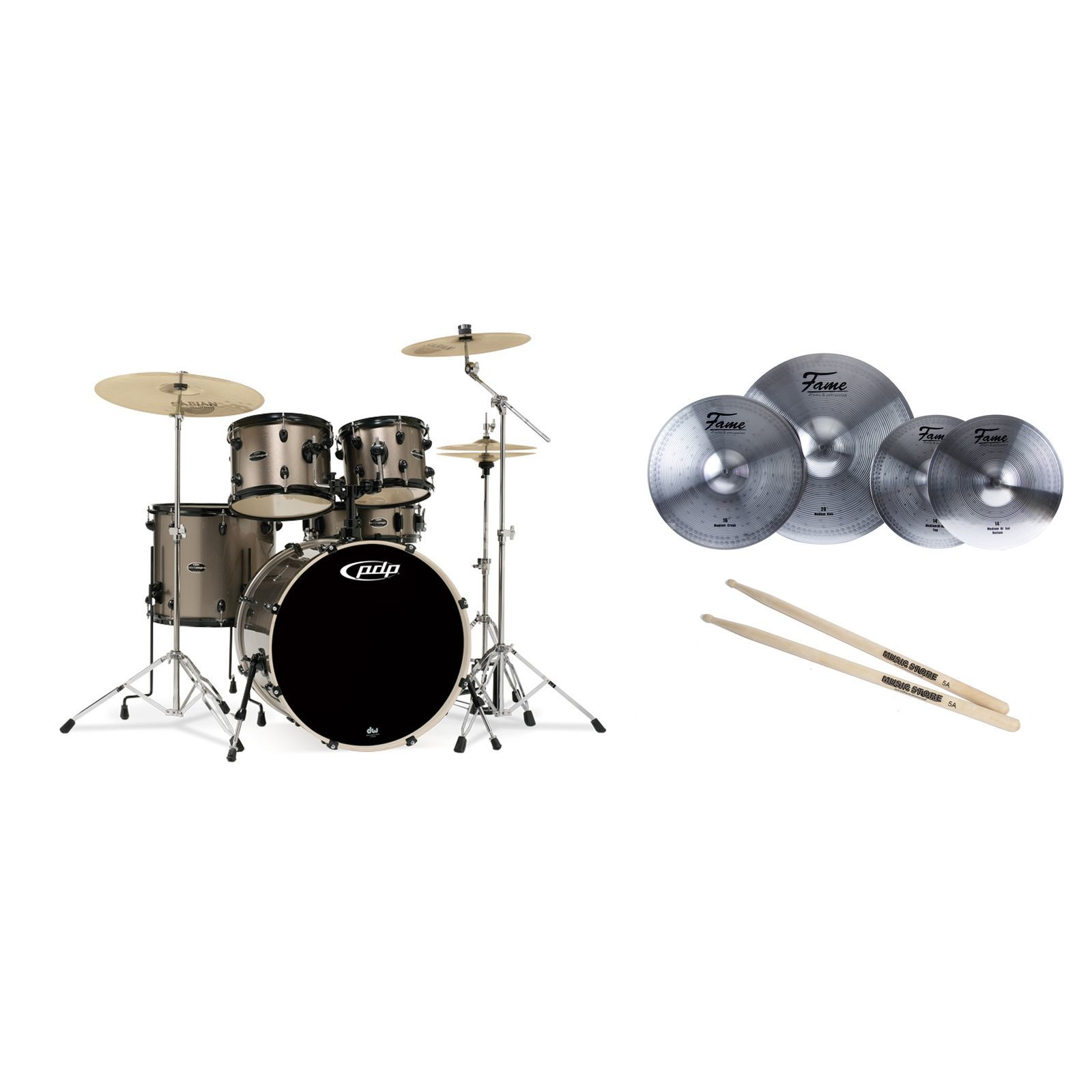 SET DW PDP Mainstage Bronze Bundle  Produktbild