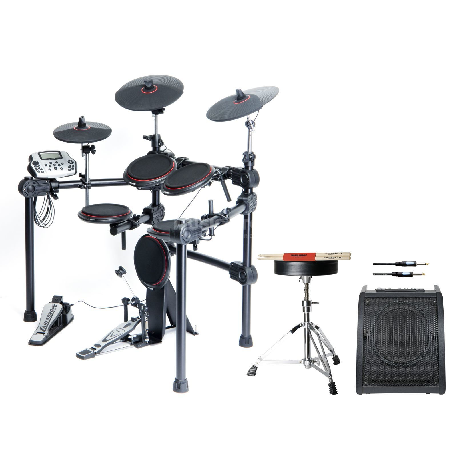 SET FAME DD-5500 E-Drum Bundle, inkl. Hocker, Monitor & Sticks Produktbild