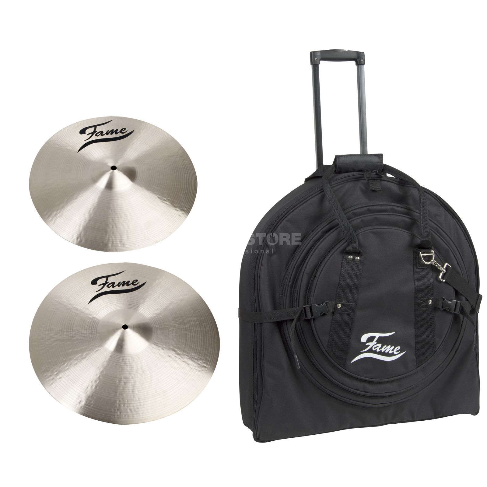"SET FAME Masters B20 Crash Pack 2, inkl. 15"" & 17"" Crash Produktbild"