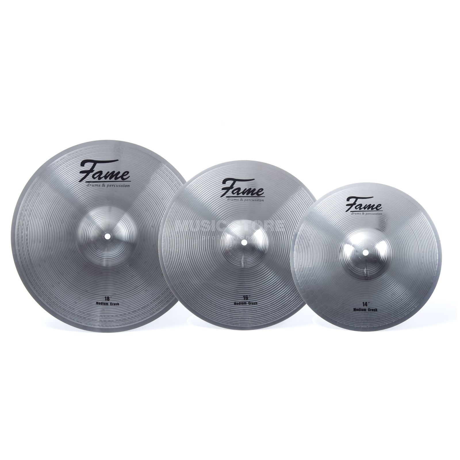 "SET FAME Reflex Crash Set 14"", 16"", 18"" Produktbild"