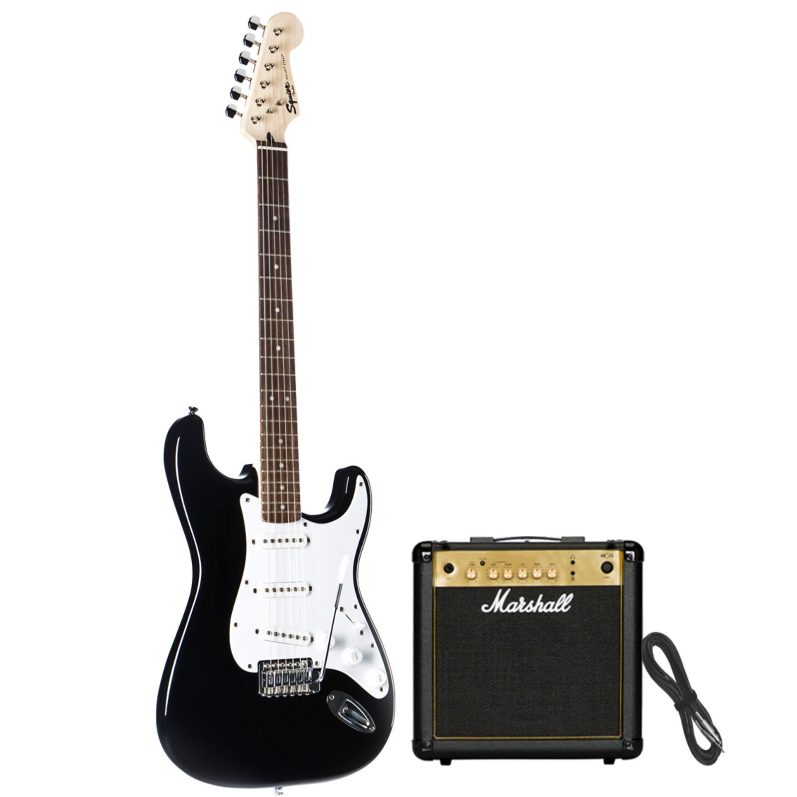 SET Fender ESC105 incl. Bag  + Tuner + Book + Stand Produktbillede