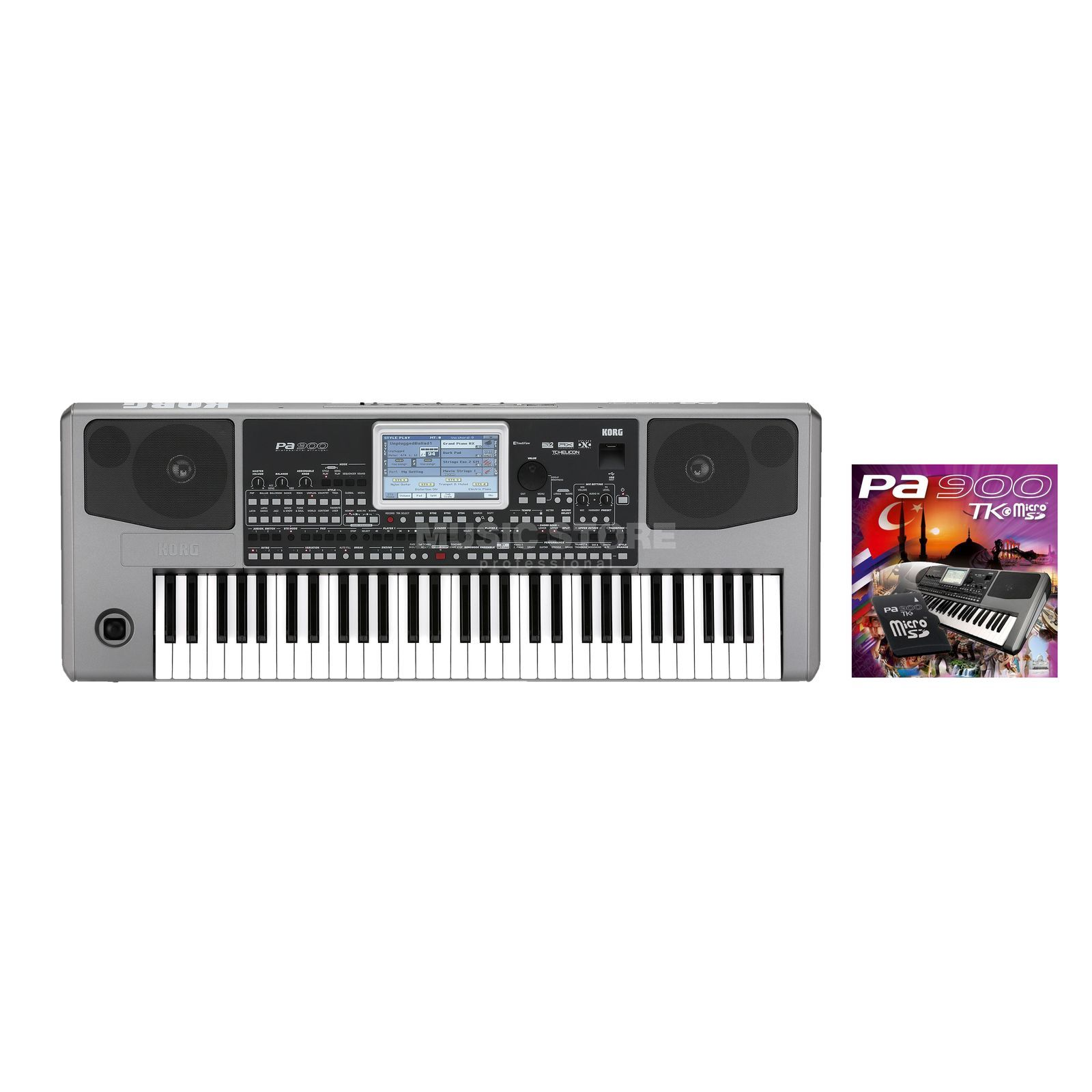 SET KORG Pa 900 Entertainer Set inkl. türkische Software Produktbild