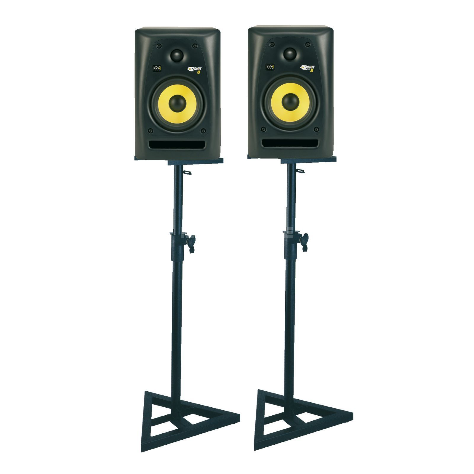SET KRK RP 8 + DB 039 SET Monitor + Stands Produktbild