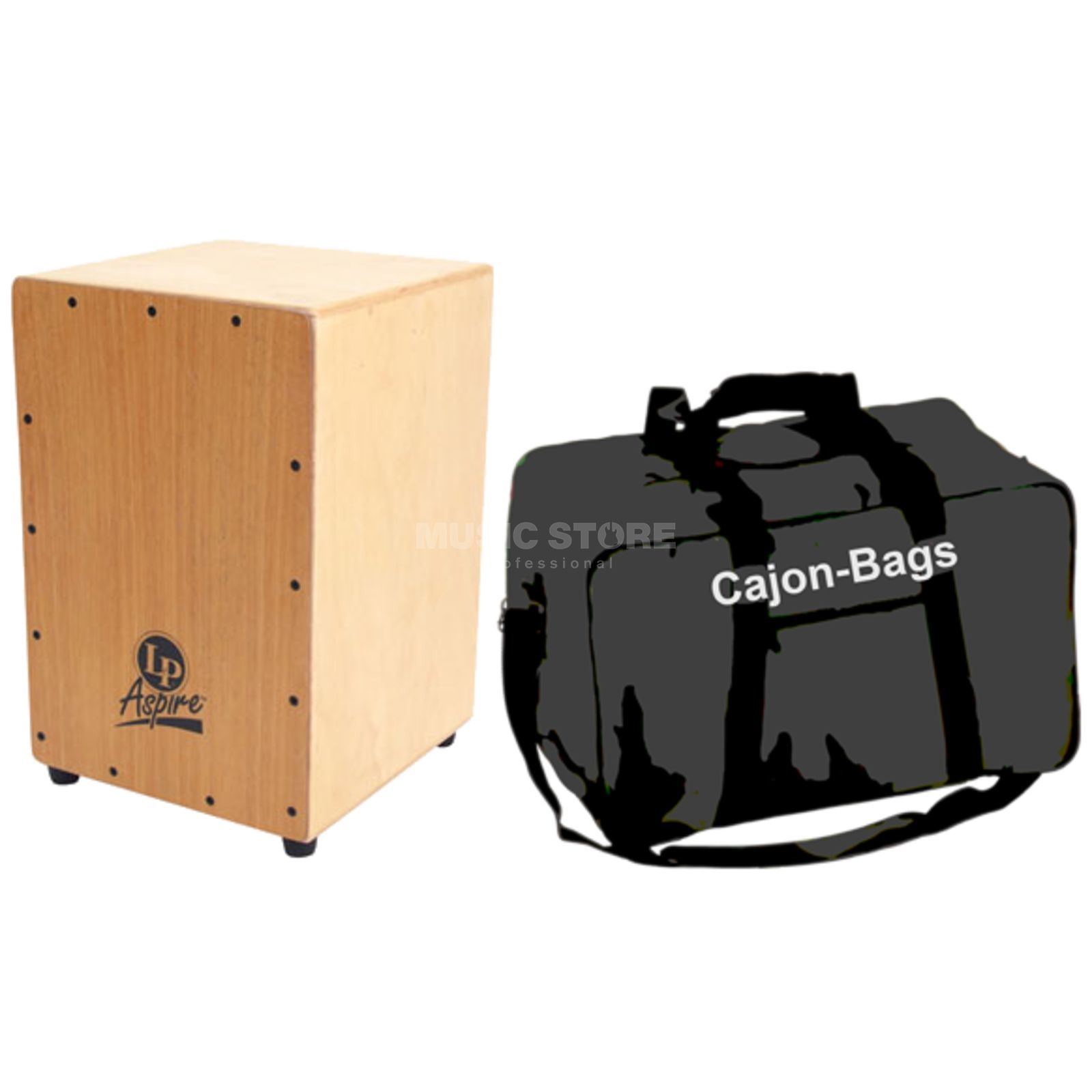 SET LATIN PERCUSSION Cajon Aspire + Bag Produktbillede