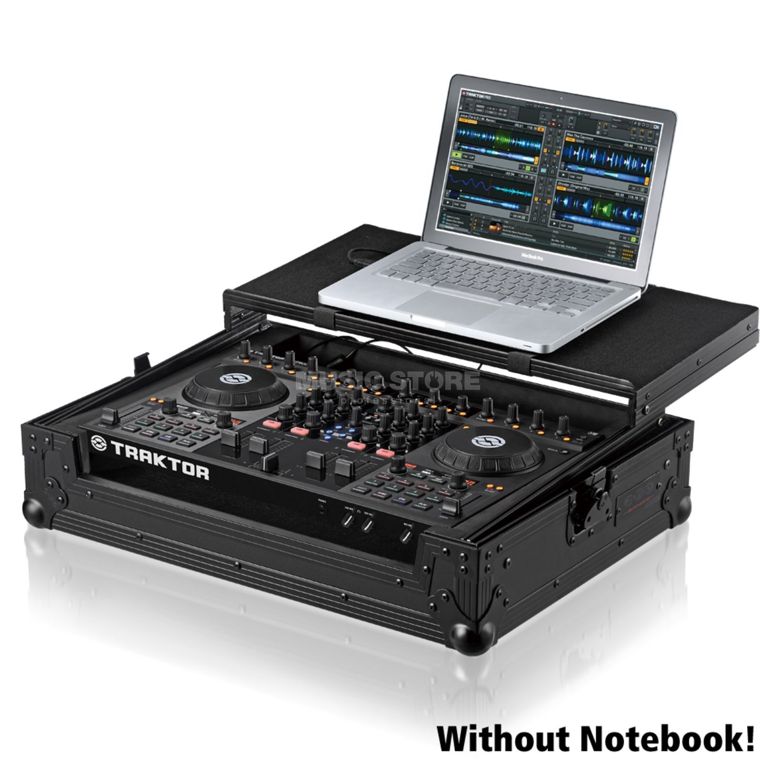 SET Native TRAKTOR Kontrol S4 MKII incl. Flightcase S4 PLUS NSE Produktbillede