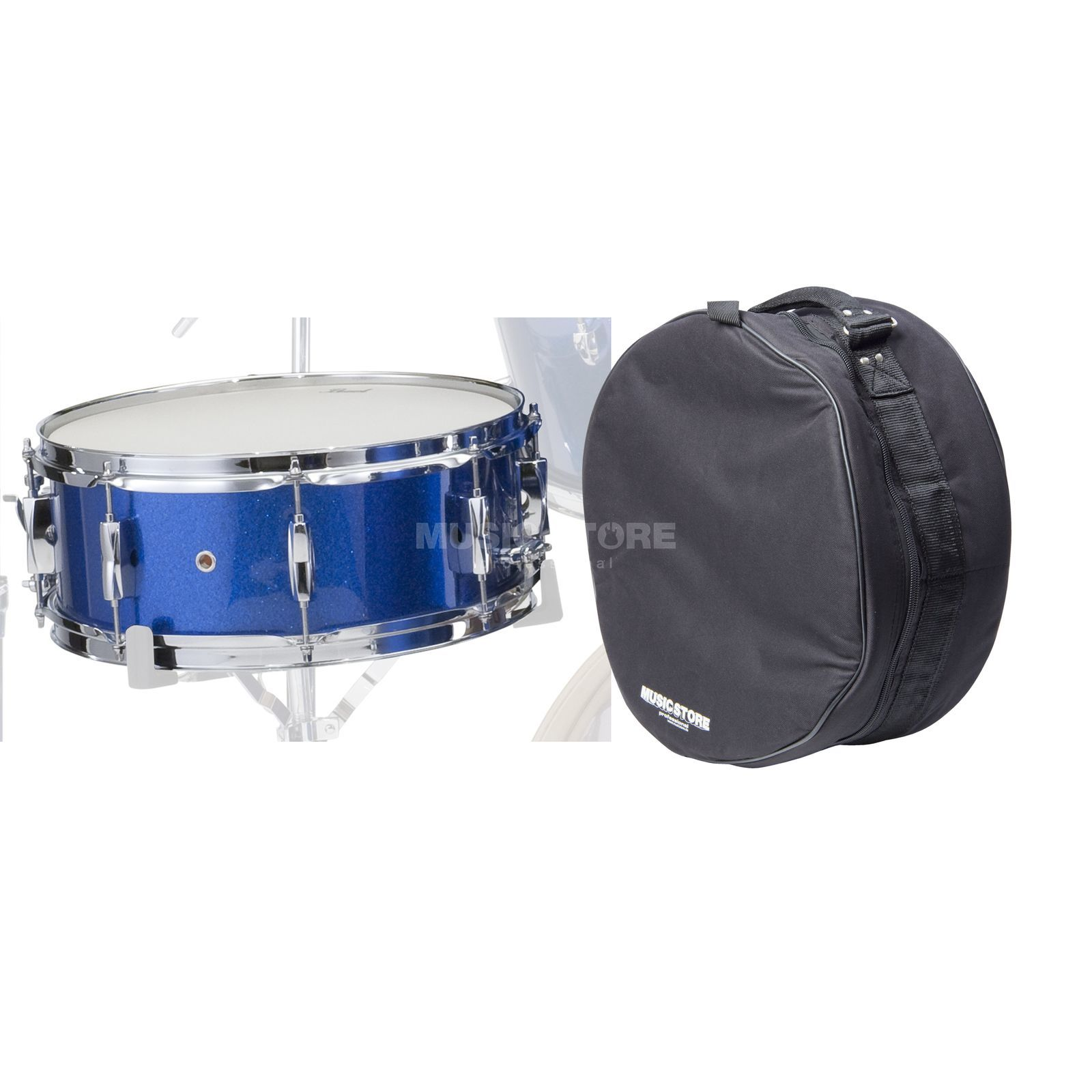 "SET Pearl Export SnareDrum 14""x5,5"", incl. Bag, El. Blue Produktbild"