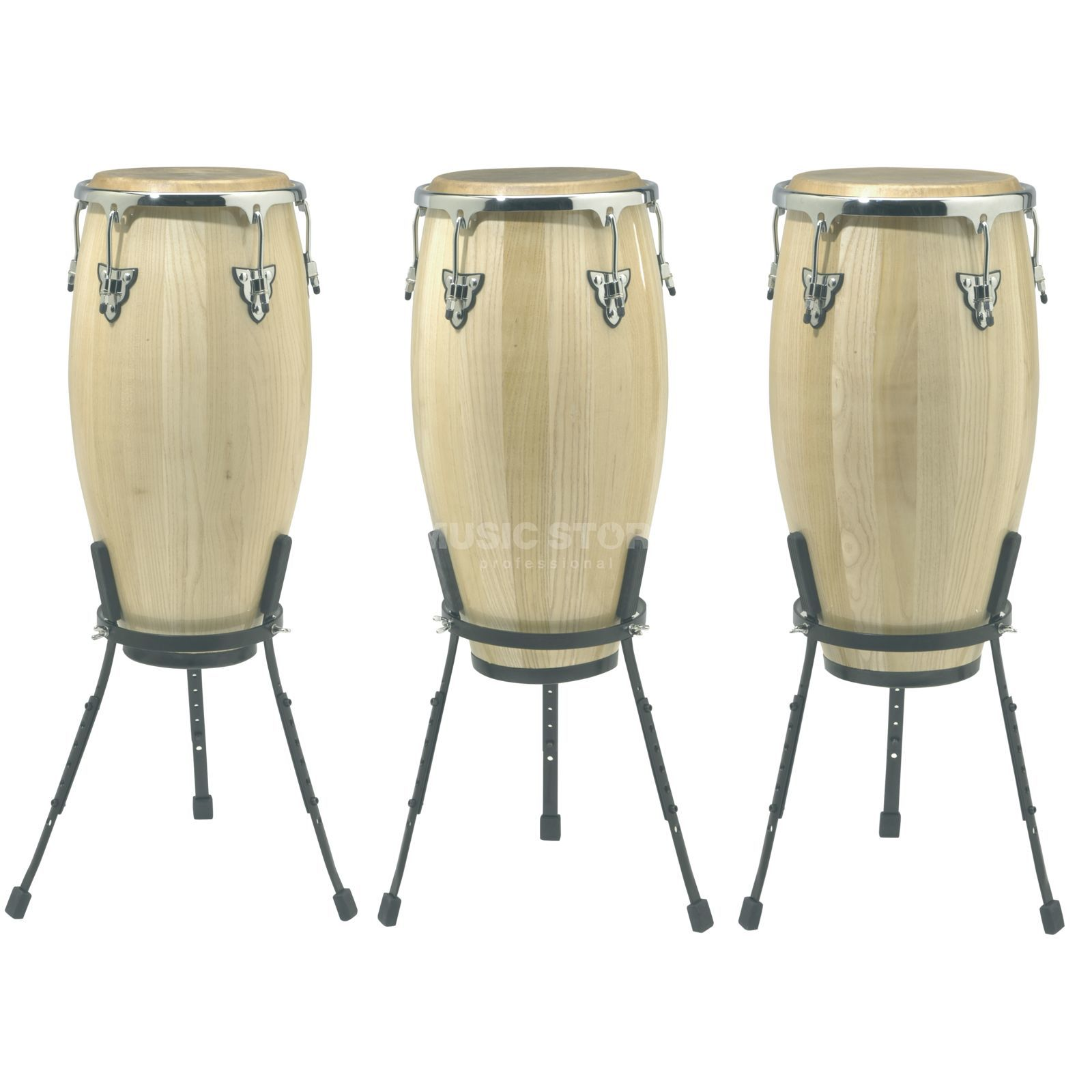 "SET SONOR Champion Conga Set NHG Natural, 11""+11 3/4""+12 1/2"" Produktbillede"